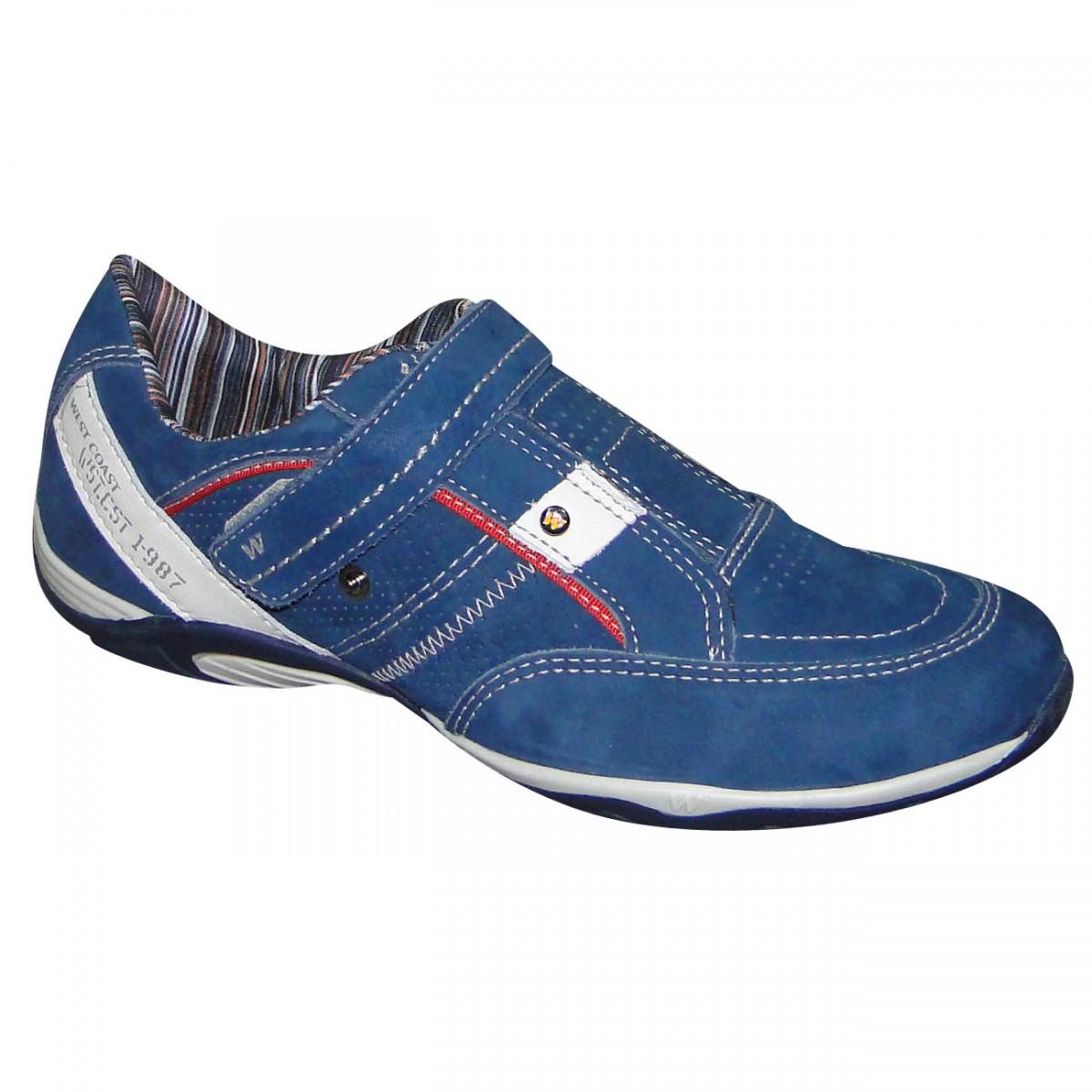 e11975c328b03 Sapatenis West Coast 119702 119702-2 - Royal - Chuteira Nike, Adidas ...