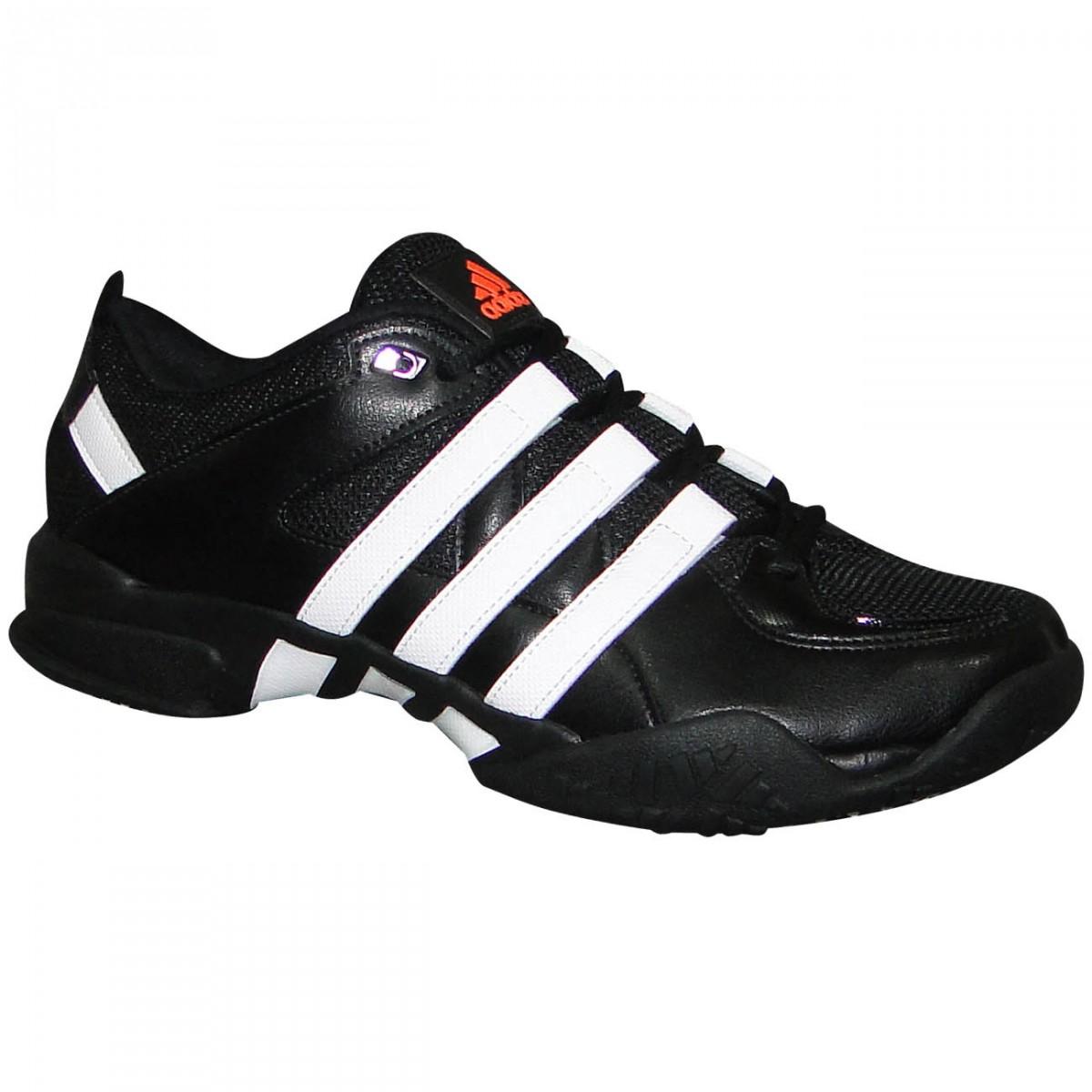 e0ccd469355 Tenis Adidas 4.4 D96210 - Preto Branco - Chuteira Nike