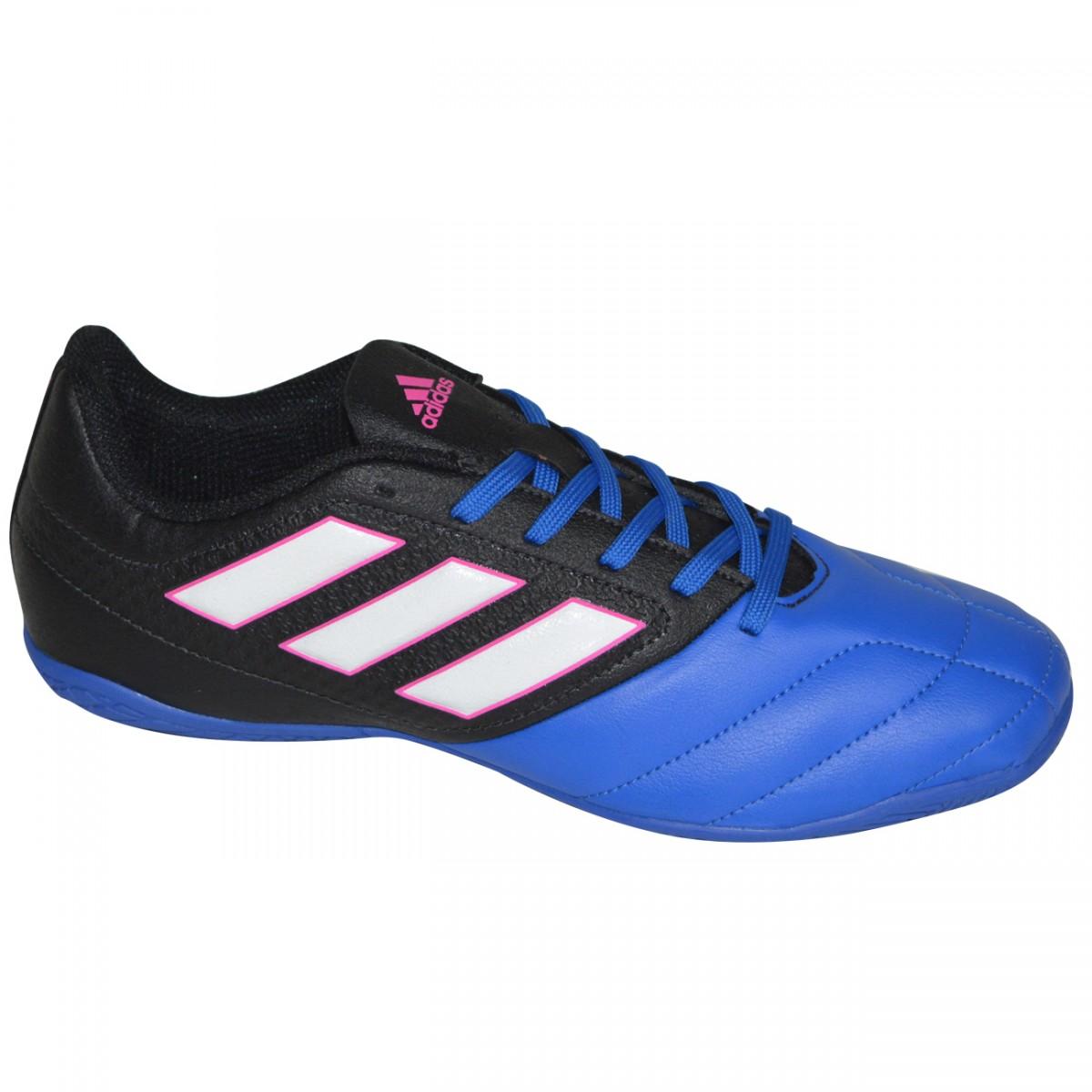 Tenis Adidas Ace 17.4 BB1767 - Preto Royal - Chuteira Nike 3071e5b7644f7