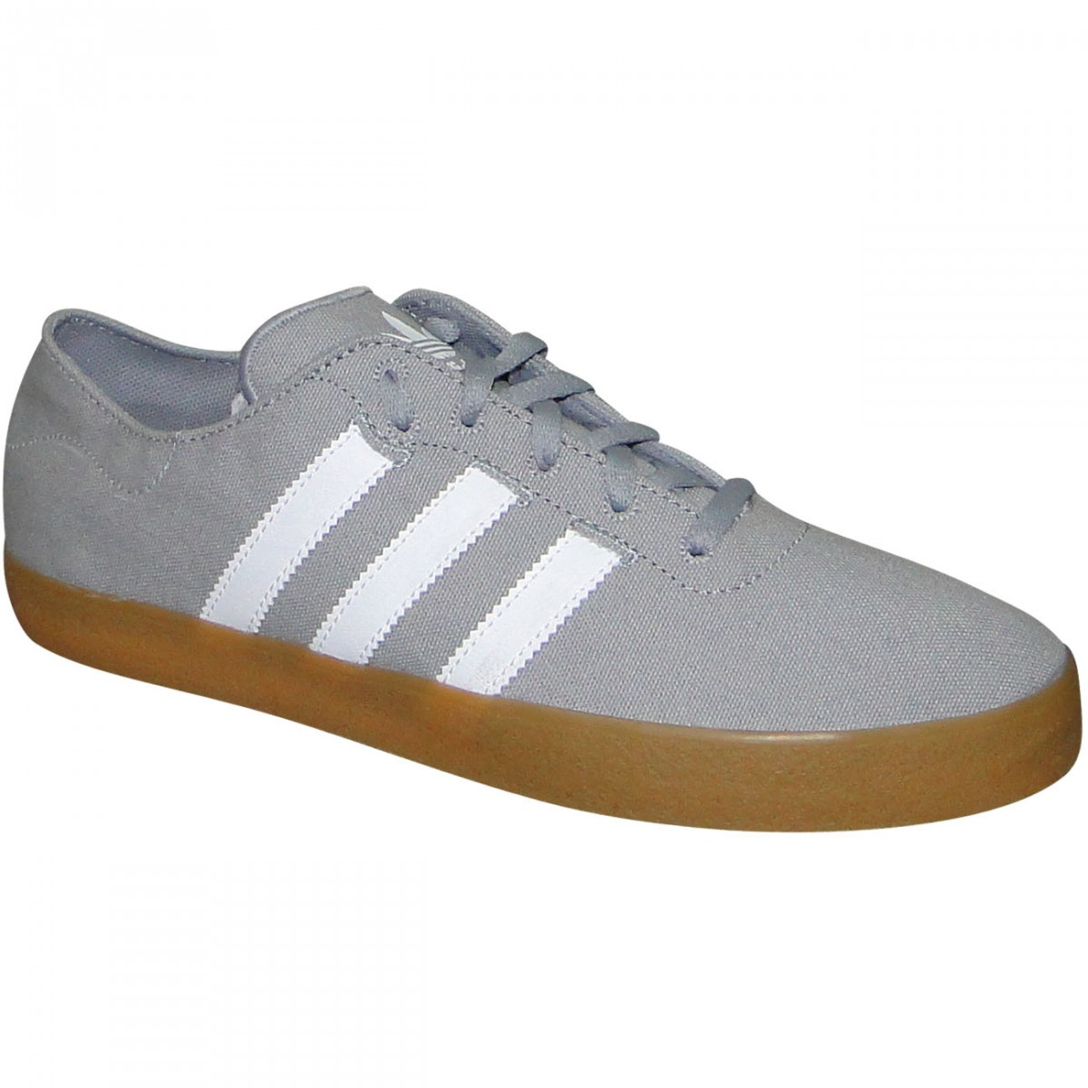 Tenis Adidas Adi Ease Surf G98113 - Cinza Branco - Chuteira Nike ... b70064f9c02b2