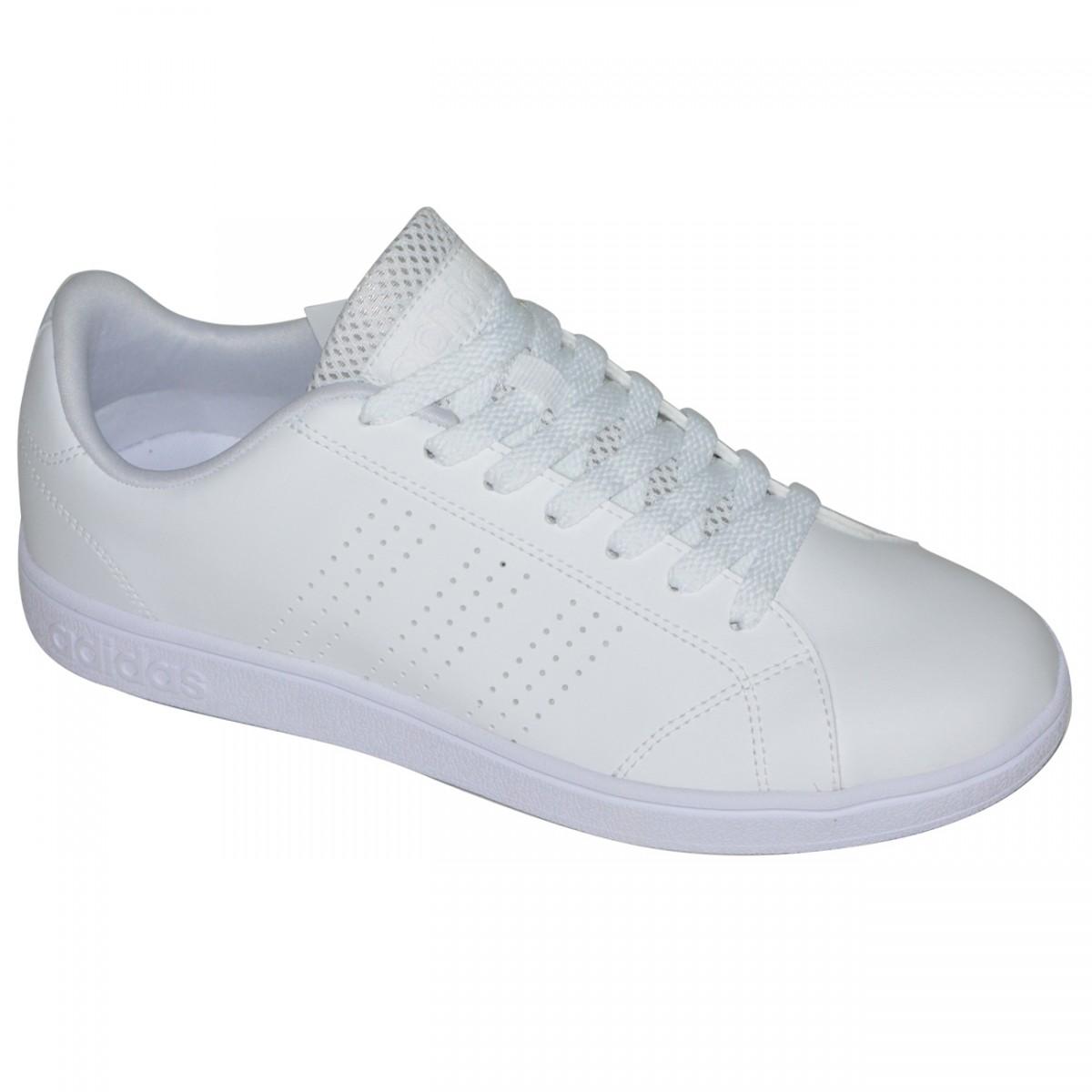 Tenis Adidas Advantage Clean B74685 - Branco Branco - Chuteira Nike ... f79e1c4cd68b4
