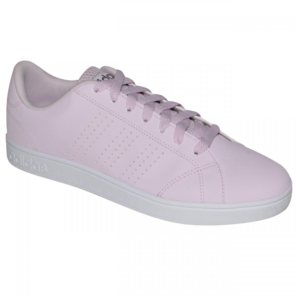 e11e2cdaa4 Tenis Adidas Advantage Clean DB0845 - Lilas branco - Chuteira Nike ...