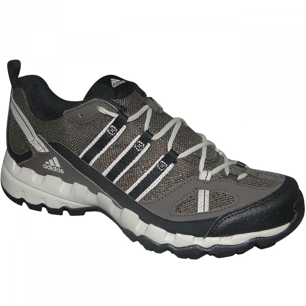 4c656b4c09f TENIS ADIDAS AX 1 G97053 - Musgo Preto Bege - Chuteira Nike