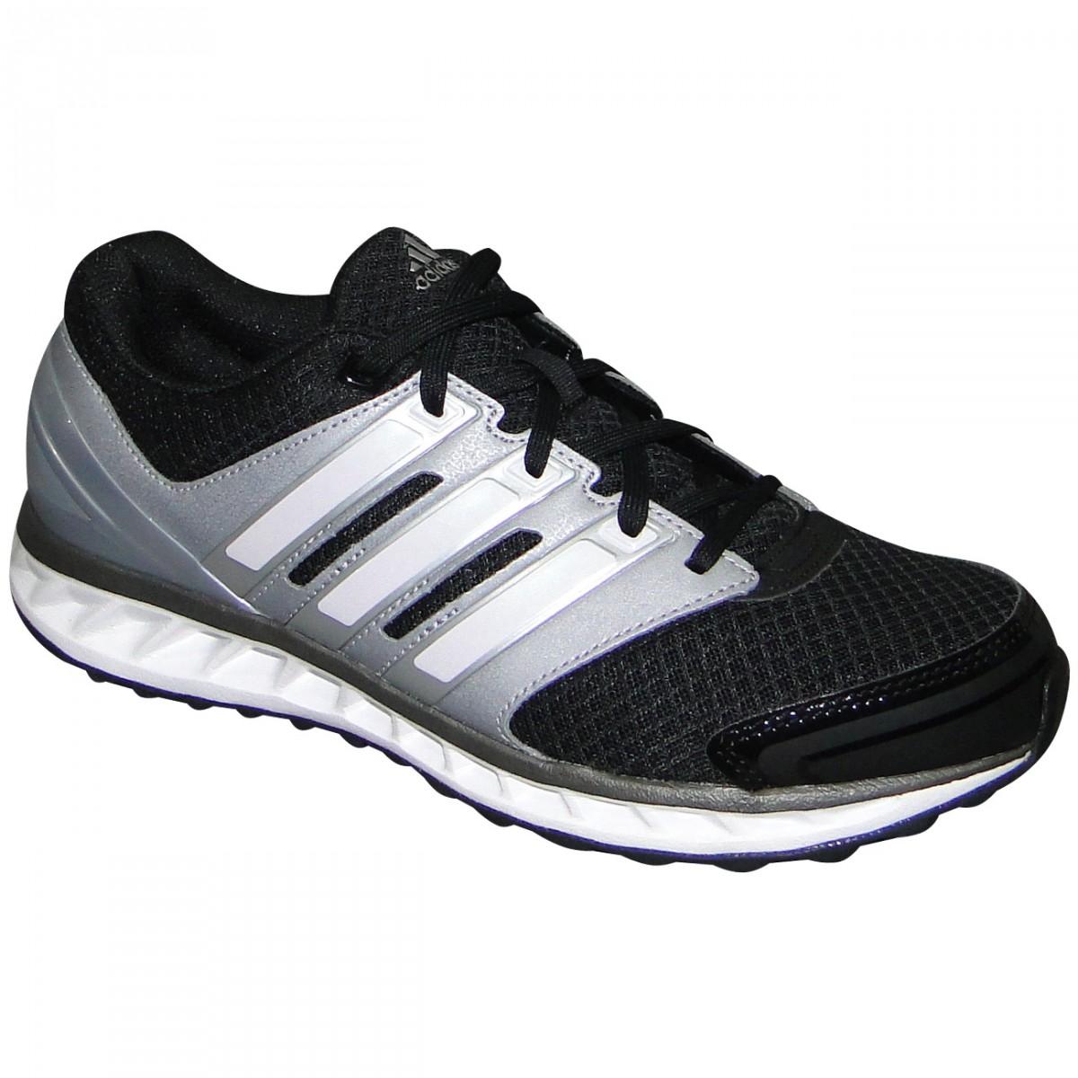 f64a0f57e43 Tenis Adidas Falcon Elite 3 D67156 - Preto Prata - Chuteira Nike ...