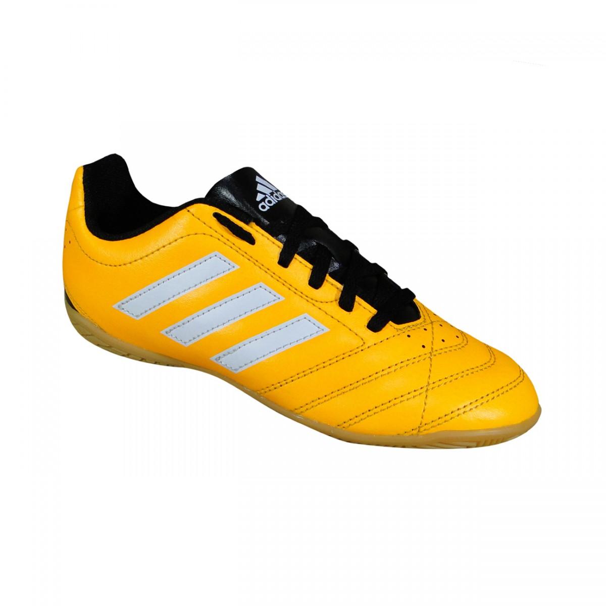 8d2ad4bc31 Tenis Adidas Goletto V Infantil AF5001 - Laranja Branco - Chuteira Nike