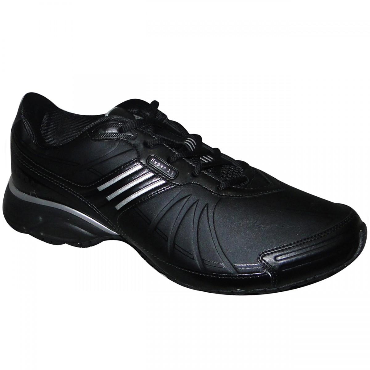 639a02cb518 TENIS ADIDAS HYPER 1.1 3006 - PRETO PRATA - Chuteira Nike