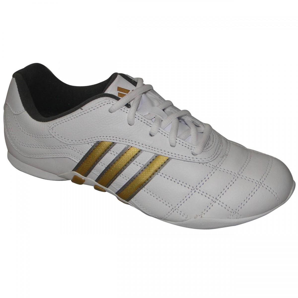 3a3bbc031 Tênis Adidas Kundo Ii G29203 - BRANCO/DOURADO - Chuteira Nike, Adidas.  Sandalias Femininas. Sandy Calçados