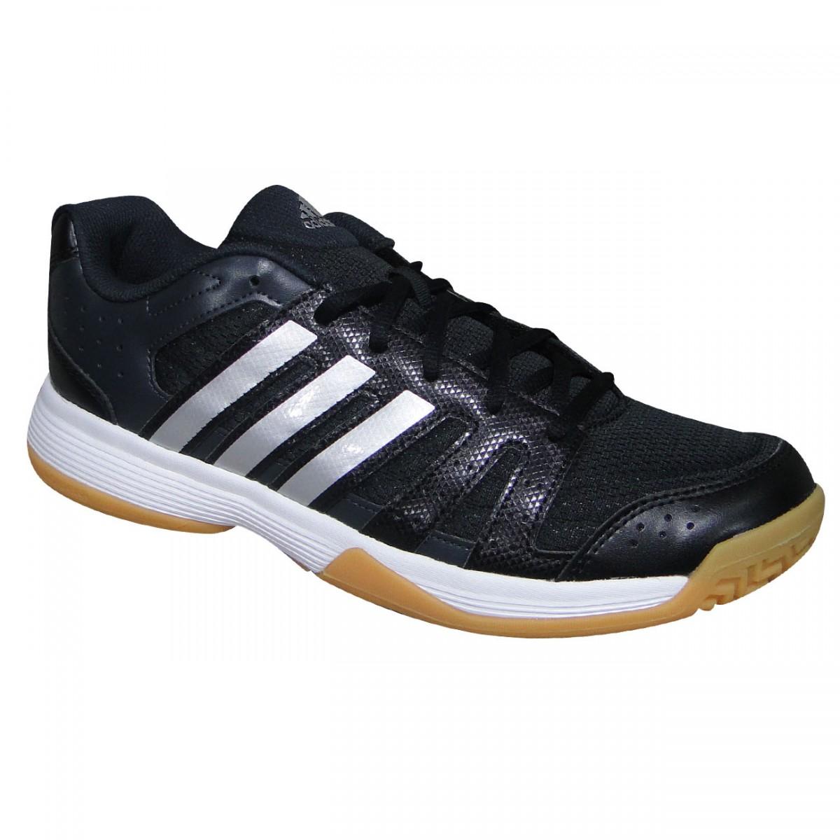 Tenis Adidas Ligra 3 B33042 - Preto Branco Cinza - Chuteira Nike ... 43a2bc6e1008d