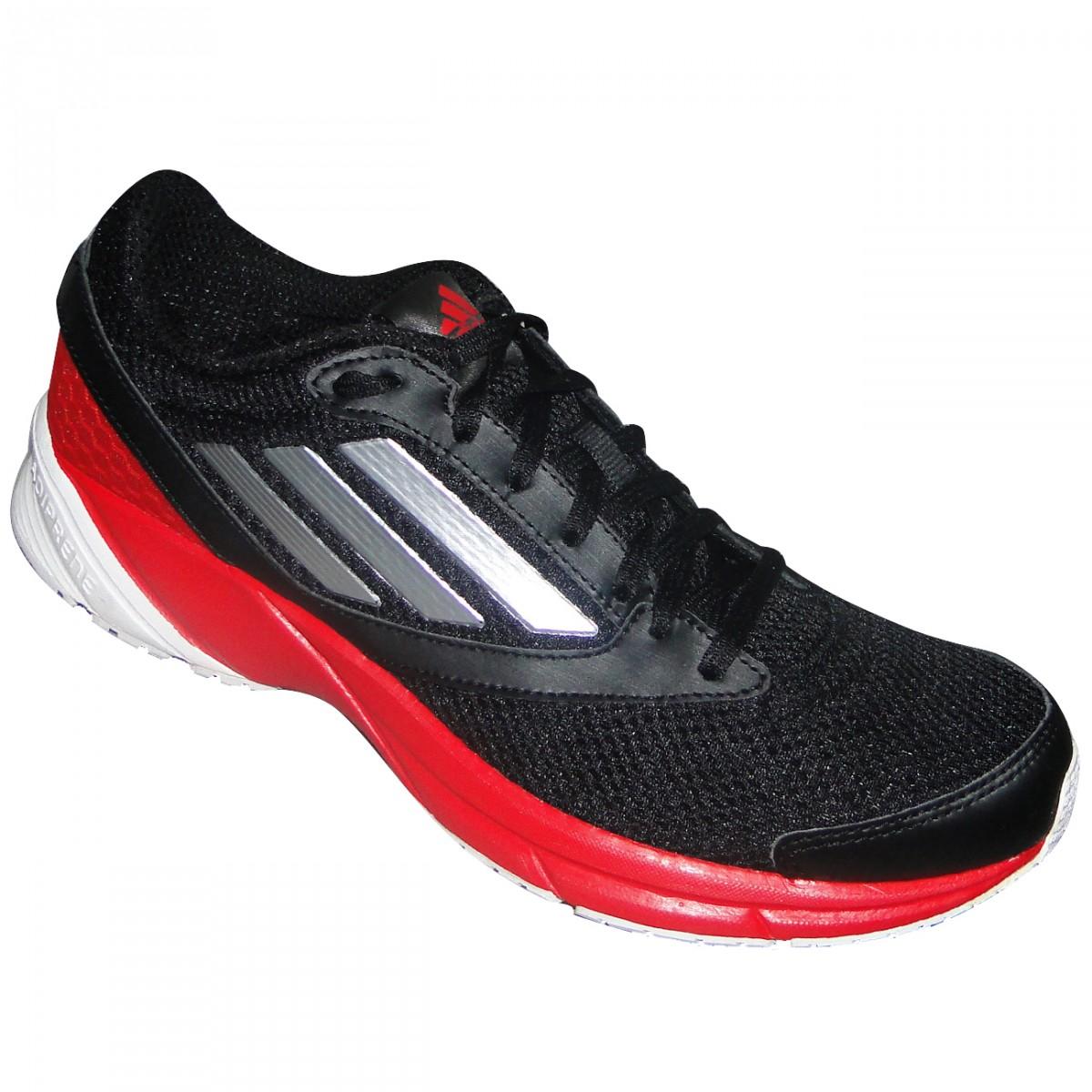 6430f899949 Tenis Adidas Lite Arrow Q22576 - Preto Vermelho Branco - Chuteira ...