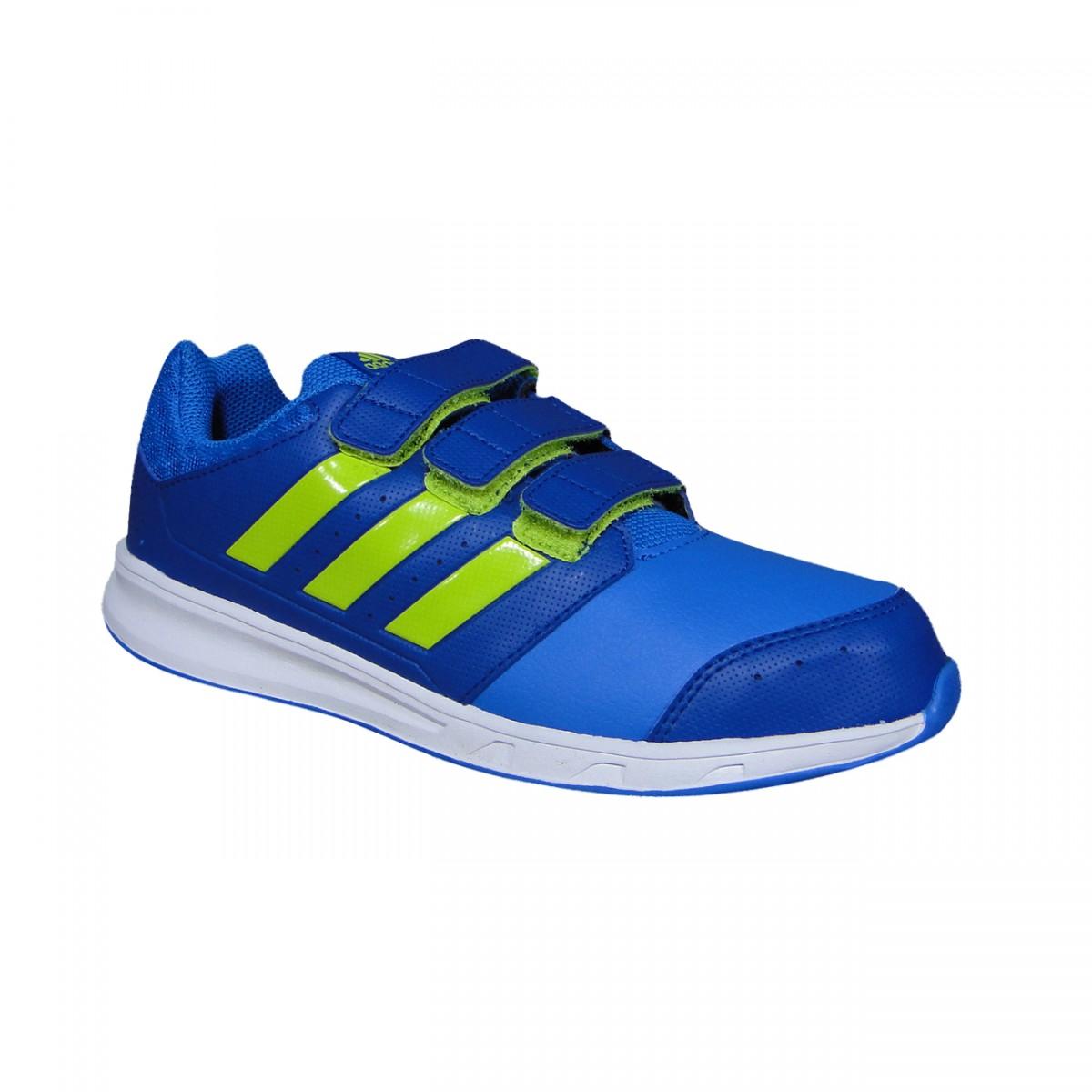 0465117ade0 Tenis Adidas Lk Sport 2 Cf Juvenil AF4527 - Azul Limao - Chuteira Nike