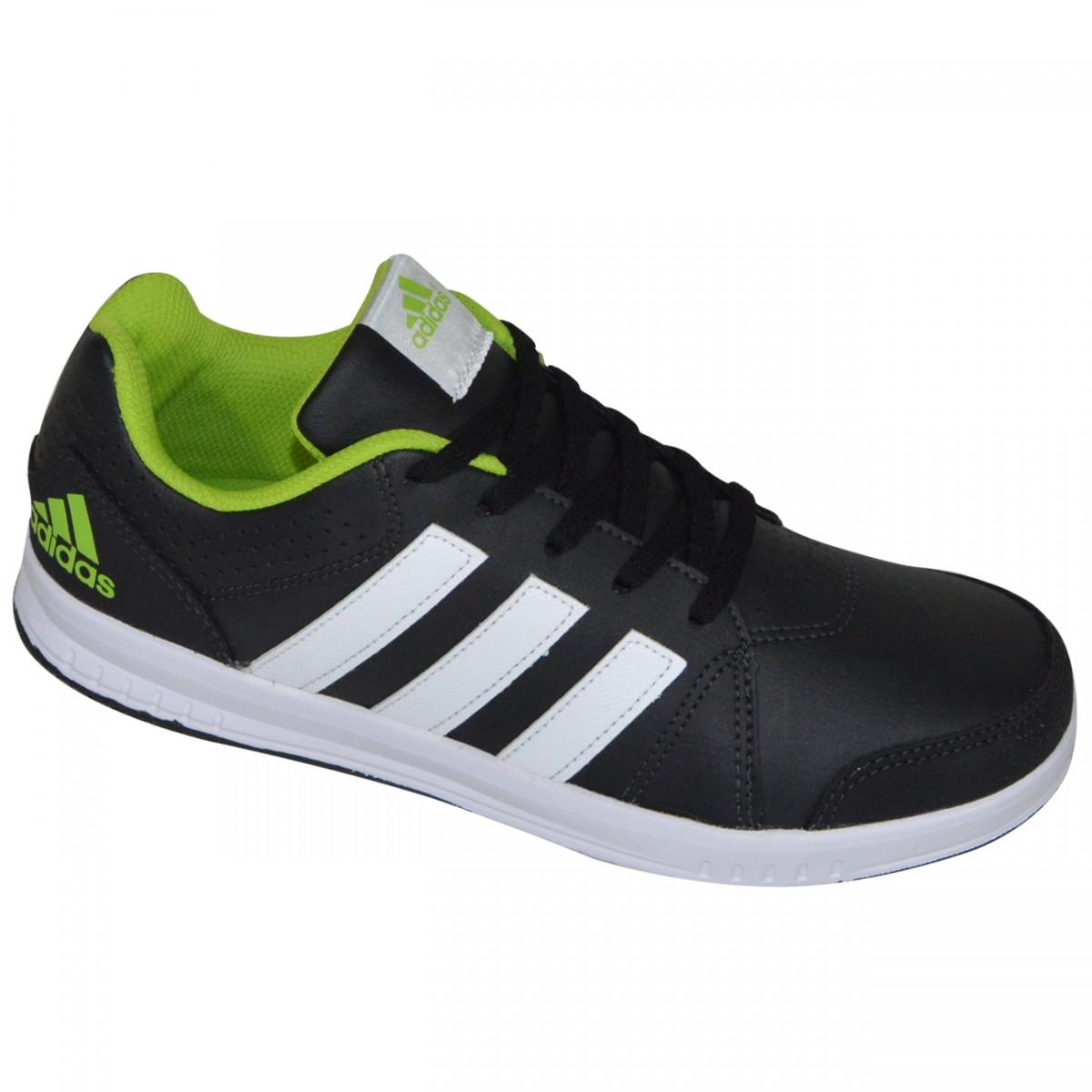 a9d6f4e63f5 Tenis Adidas LK Trainer 7 K Juvenil AF3973 - Preto Branco - Chuteira Nike