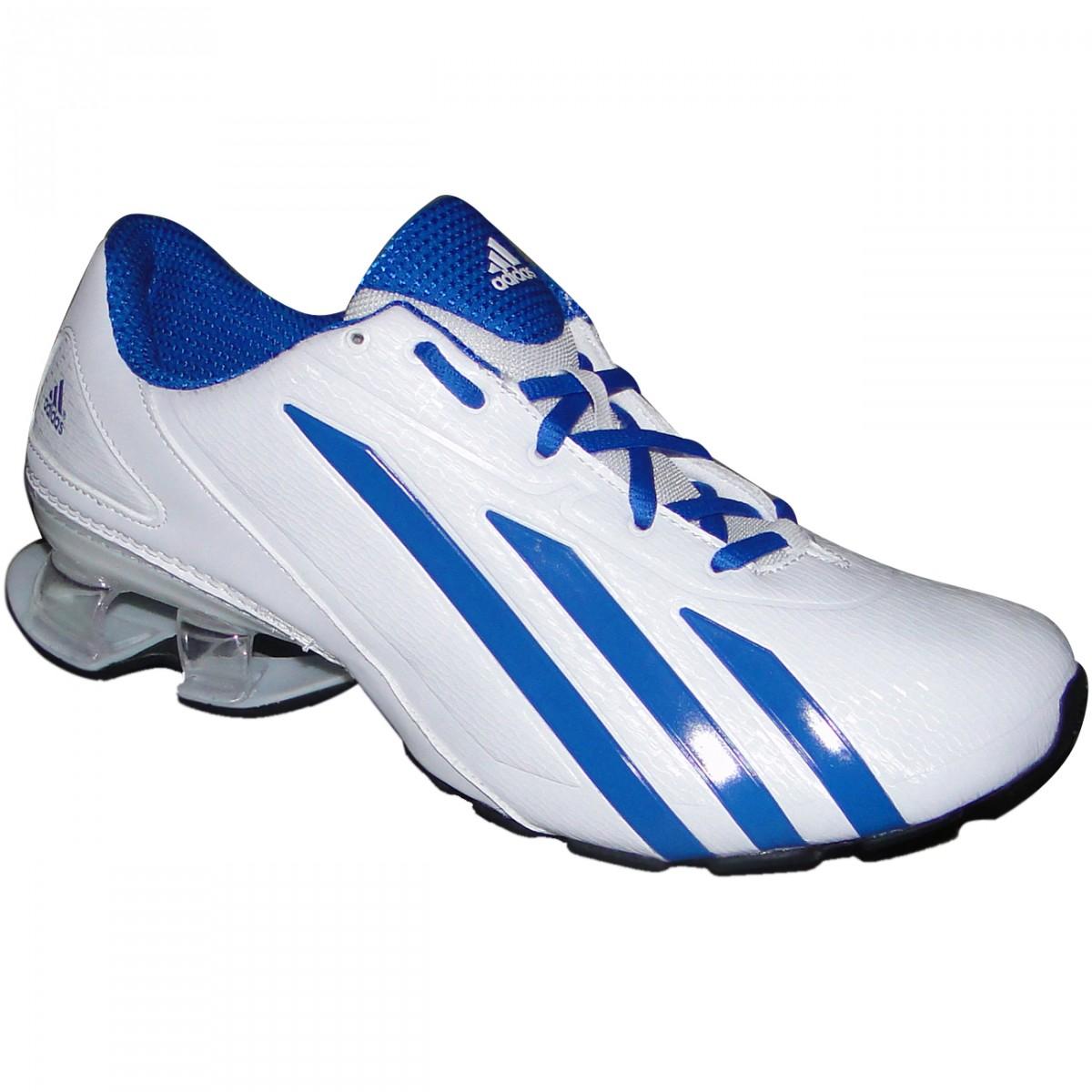 Tenis Adidas Meteor M Q23709 - Branco Azul - Chuteira Nike 9cbda62cc6975