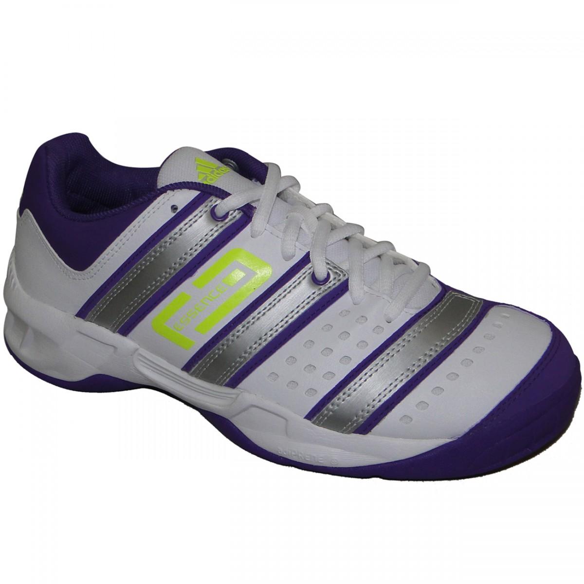 ae93b49eb07 Tênis Adidas Stabil Essence 2185 - BRANCO PRATA UVA - Chuteira Nike ...