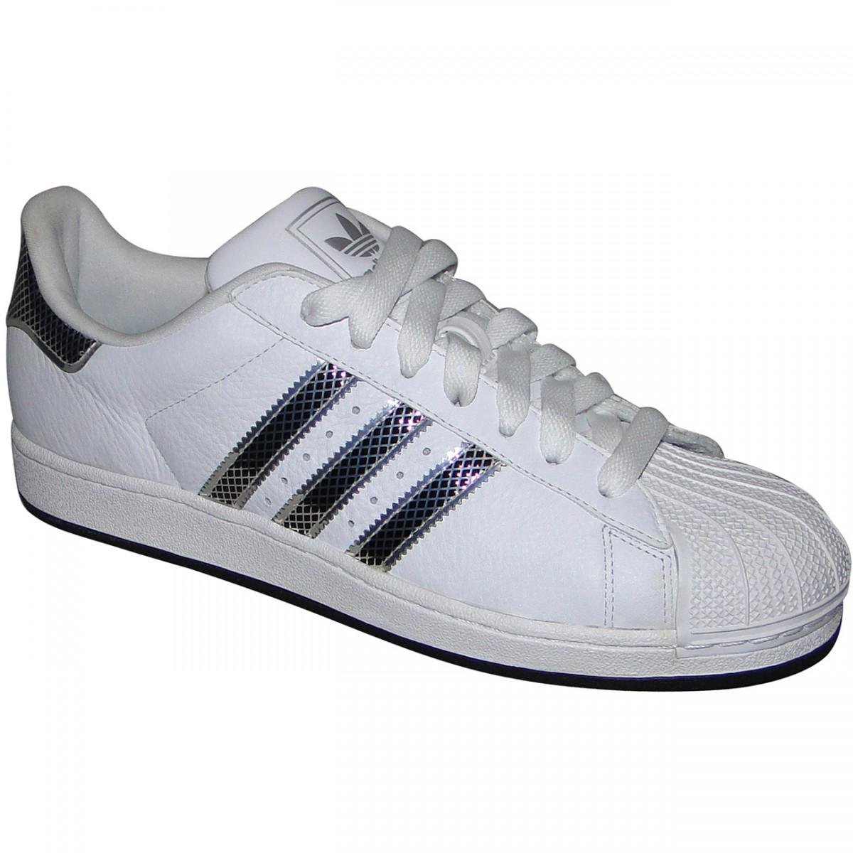 Tênis Adidas Star Ii Bling 9348 - BRANCO PRETO METALICO - Chuteira Nike b3db67d0a0090
