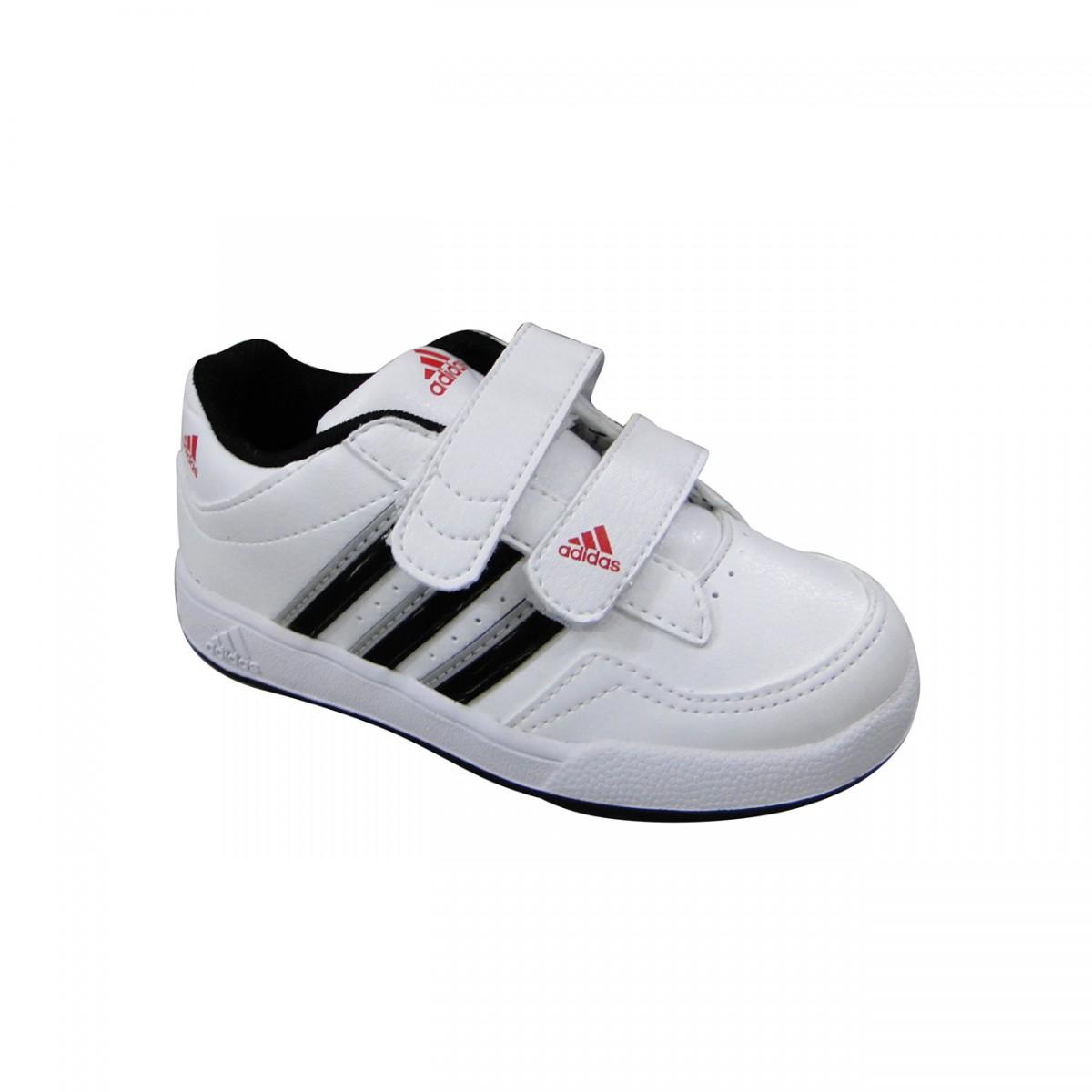 5a7c84921 Tênis Adidas Trainer 4 Infantil 5891 - BRANCO/PRETO - Chuteira Nike,  Adidas. Sandalias Femininas. Sandy Calçados
