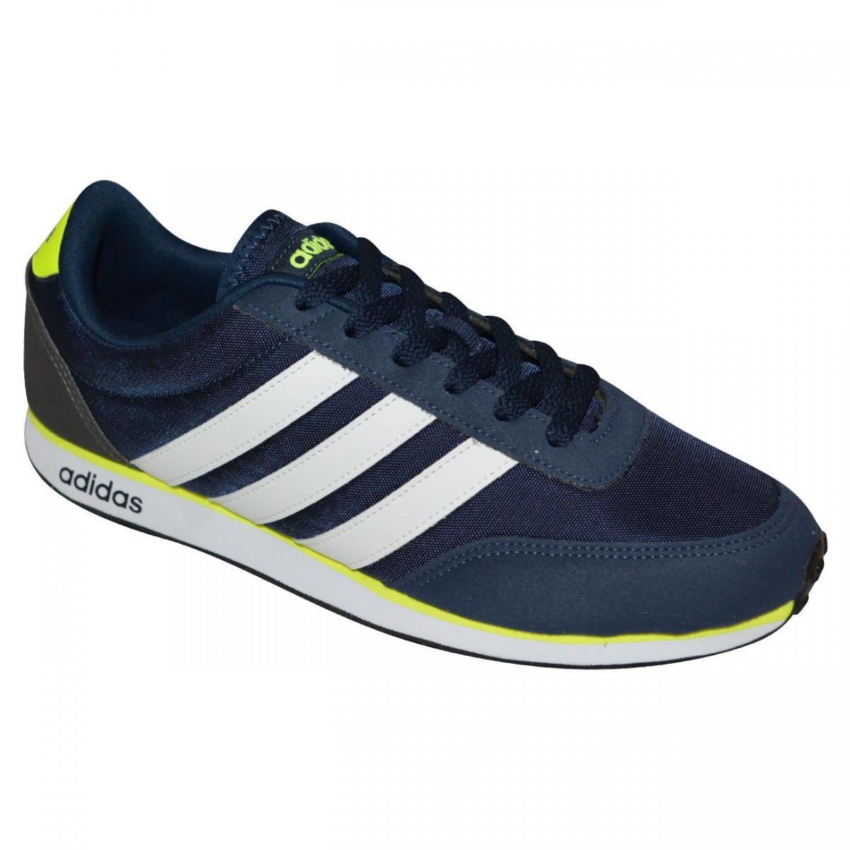 de42788e33d Tenis Adidas V Racer AW3881 - Marinho Branco Limão - Chuteira Nike ...