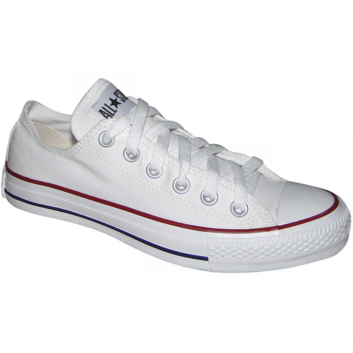 a5a993a91e TENIS ALL STAR CONVERSE CORE CT114002 - BRANCO - Chuteira Nike ...