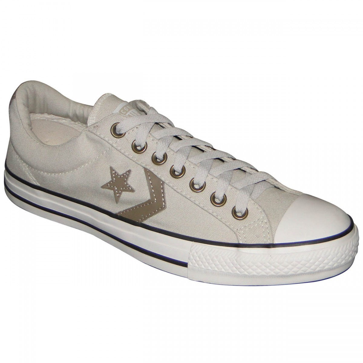 b0fa8043efe TENIS ALL STAR CONVERSE STAR PLAYER CO055693BEGCAQ - BEGE CAQUI - Chuteira  Nike