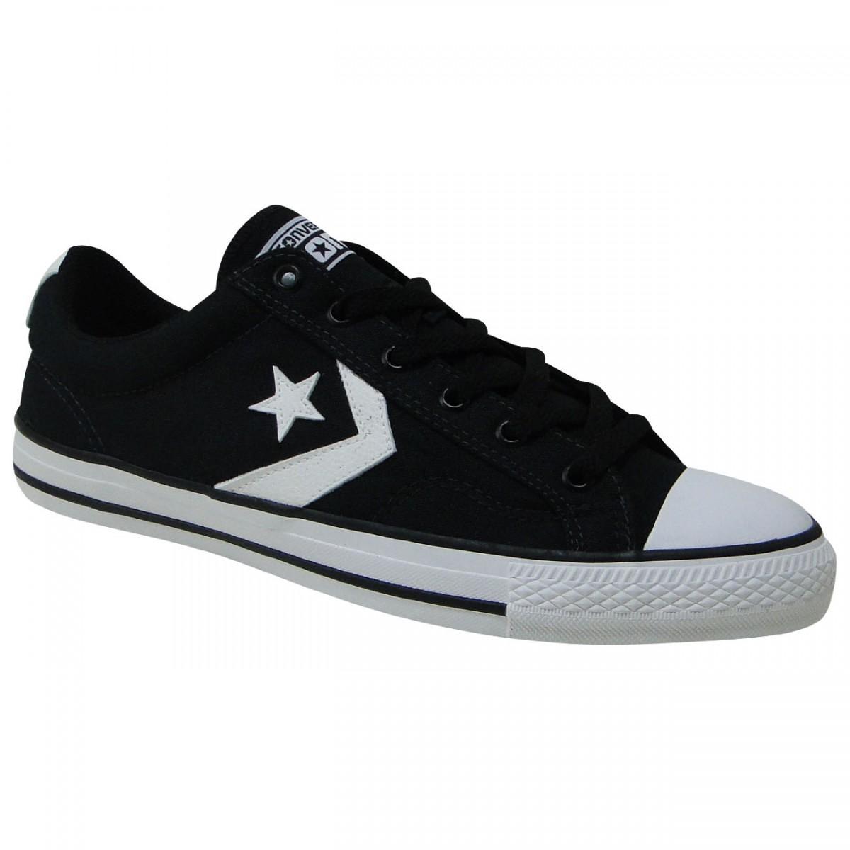 3fcfece662a6 Tênis All Star Converse Star Player CO350001 - Preto Branco - Chuteira  Nike