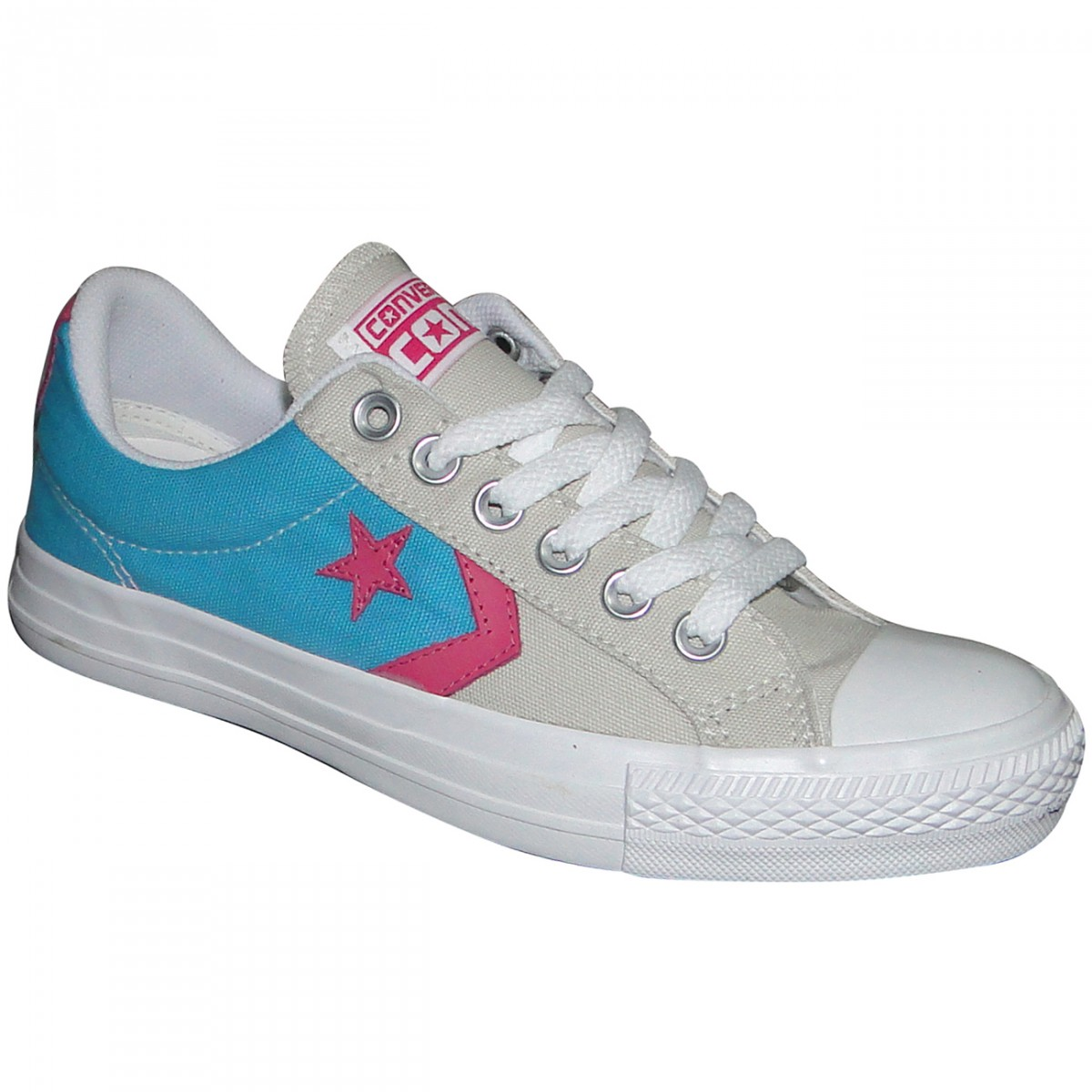 892f16f1499 Tenis All Star Converse Star Player CO261784 - Piscina Bege Pink - Chuteira  Nike