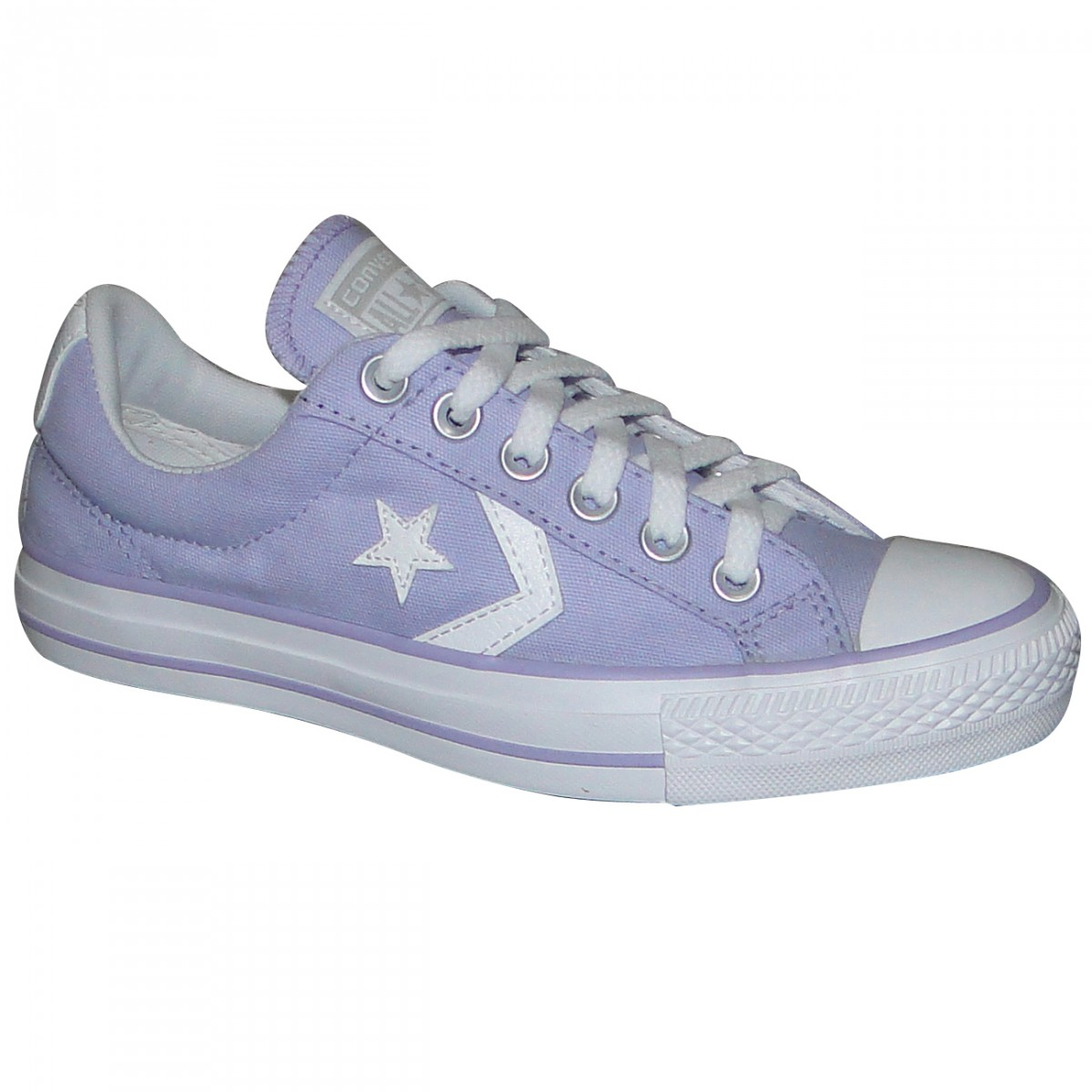 2bc1be25f5a TENIS ALL STAR CONVERSE STAR PLAYER CO055037 - Lilas Branco ...