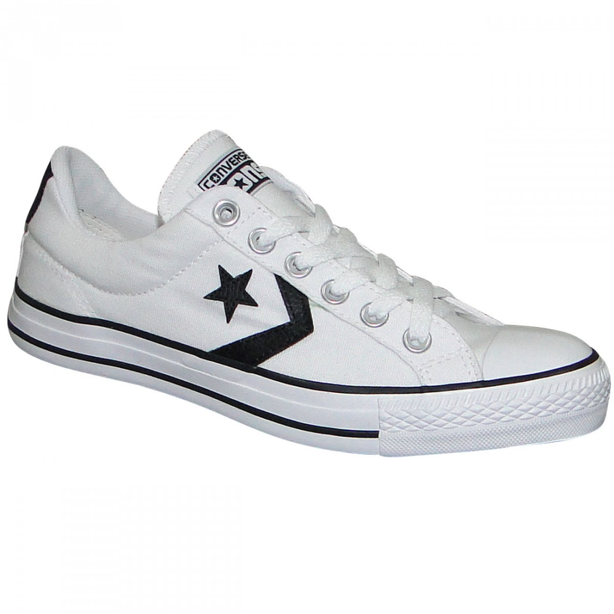 4a865937ee9 Tênis All Star Converse Star Player CO055208 - BRANCO PRETO - Chuteira Nike