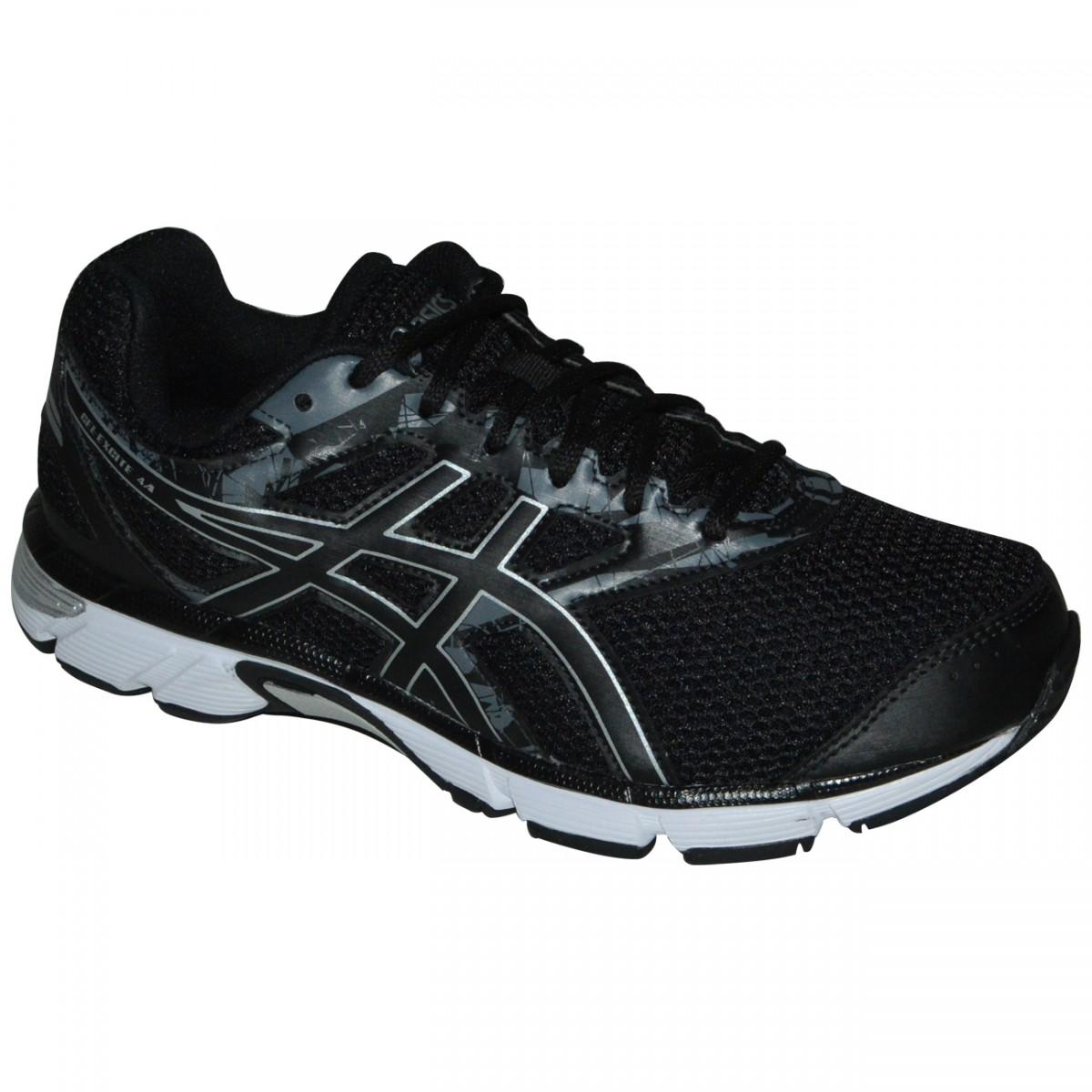 30315175e9 Tenis Asics Gel-Excite 4 T020A 8990 - Preto Branco - Chuteira Nike ...