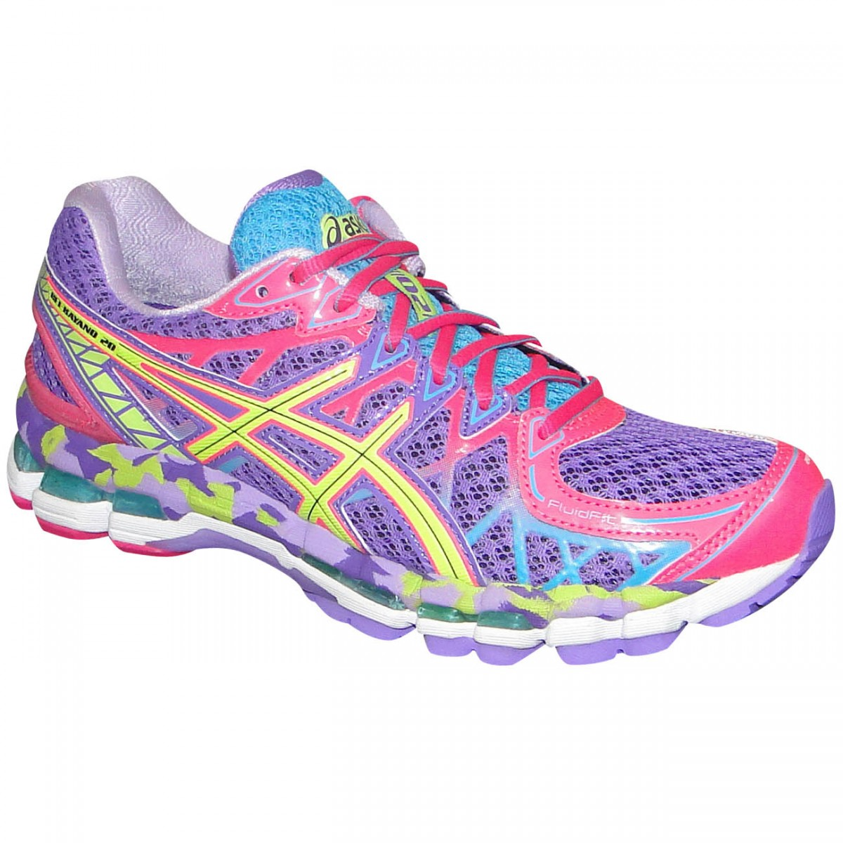 0b79ca1b106 Tenis Asics Gel-Kayano 20 T3N7Q 4807 - Lilas Pink Limão - Chuteira Nike