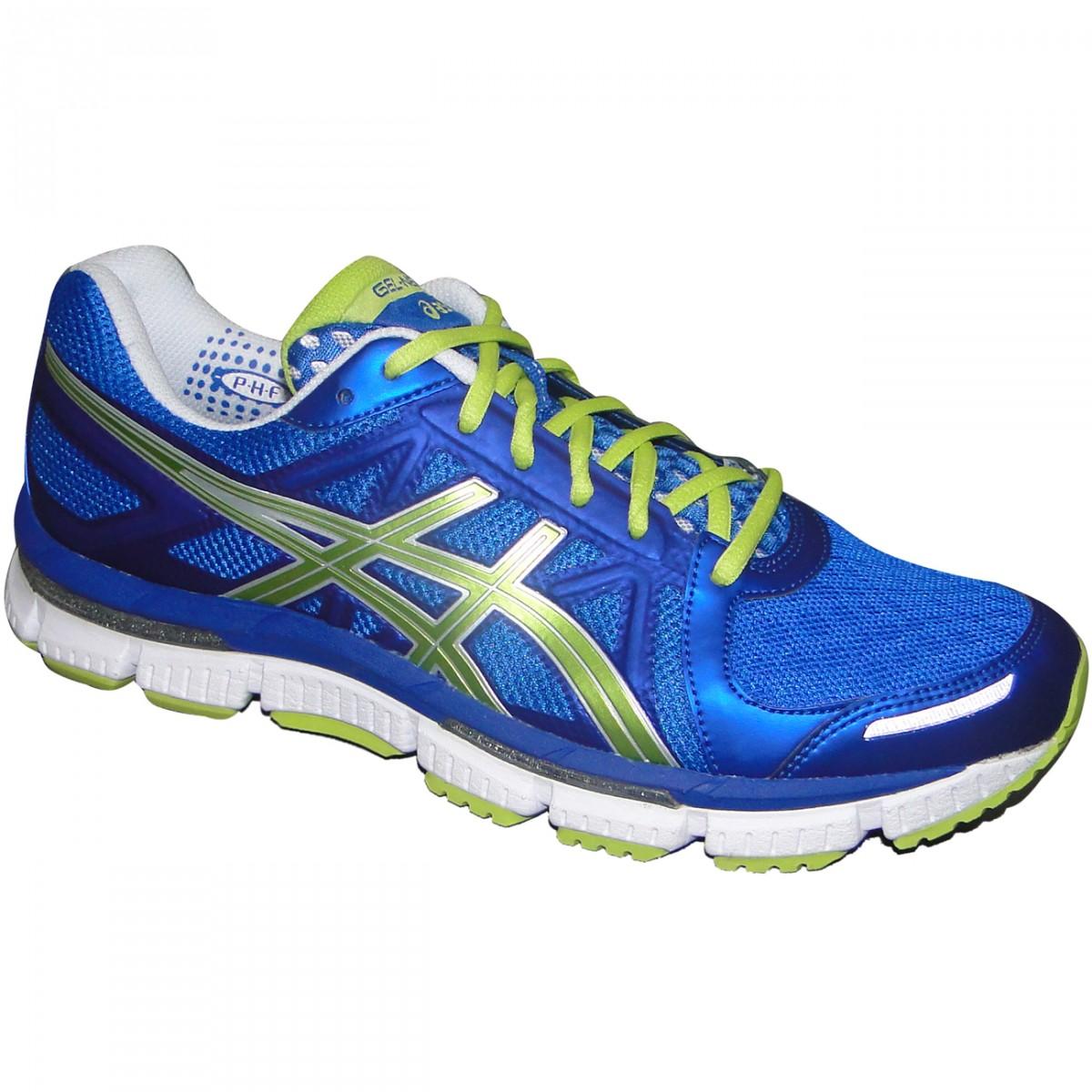 Tenis Asics Gel-Neo33 T222N-5925 - Azul Limao - Chuteira Nike ... eca1cba53fab0
