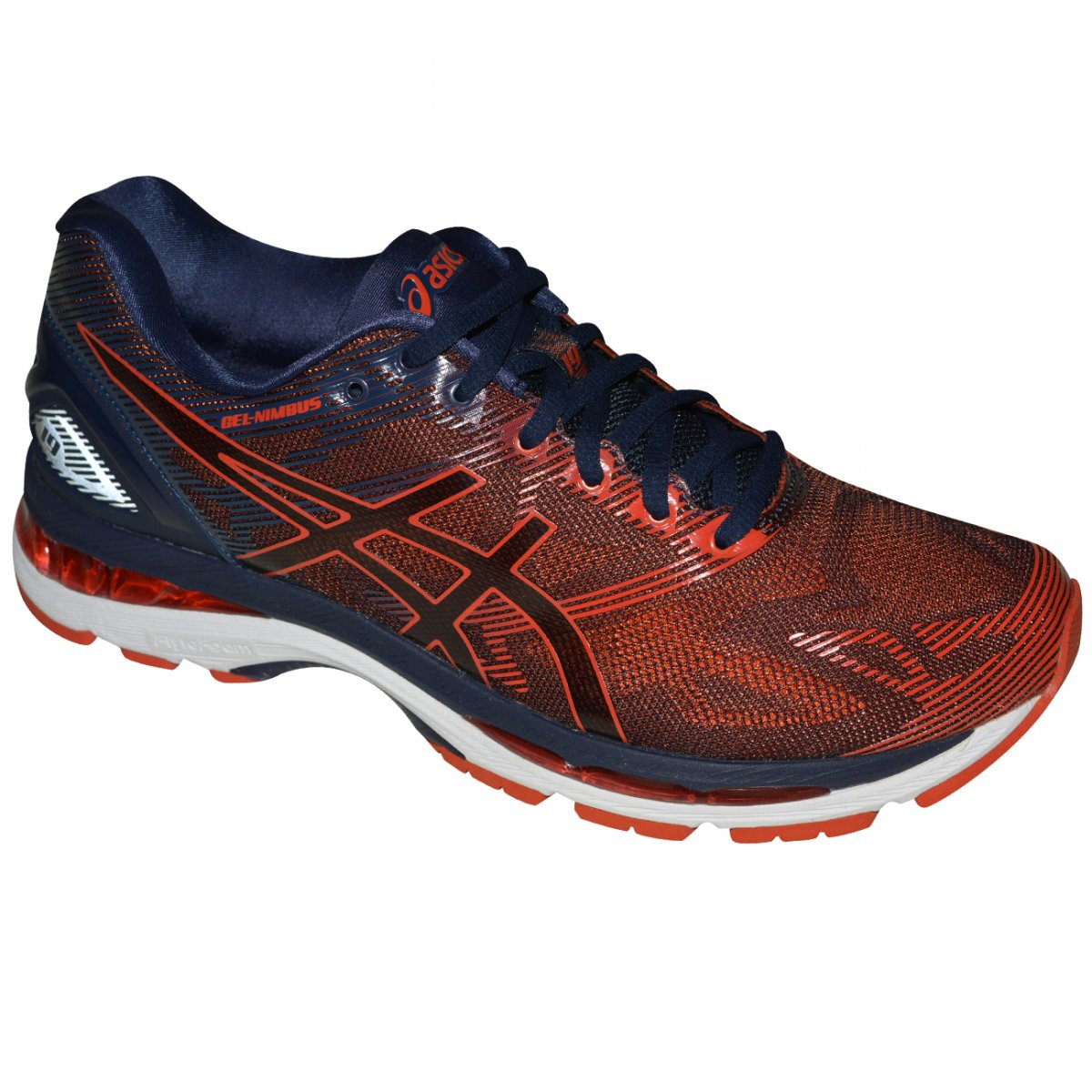 Tenis Asics Gel-nimbus 19 T700N 5806 - Vermelho marinho - Chuteira Nike 4e11995f3504c