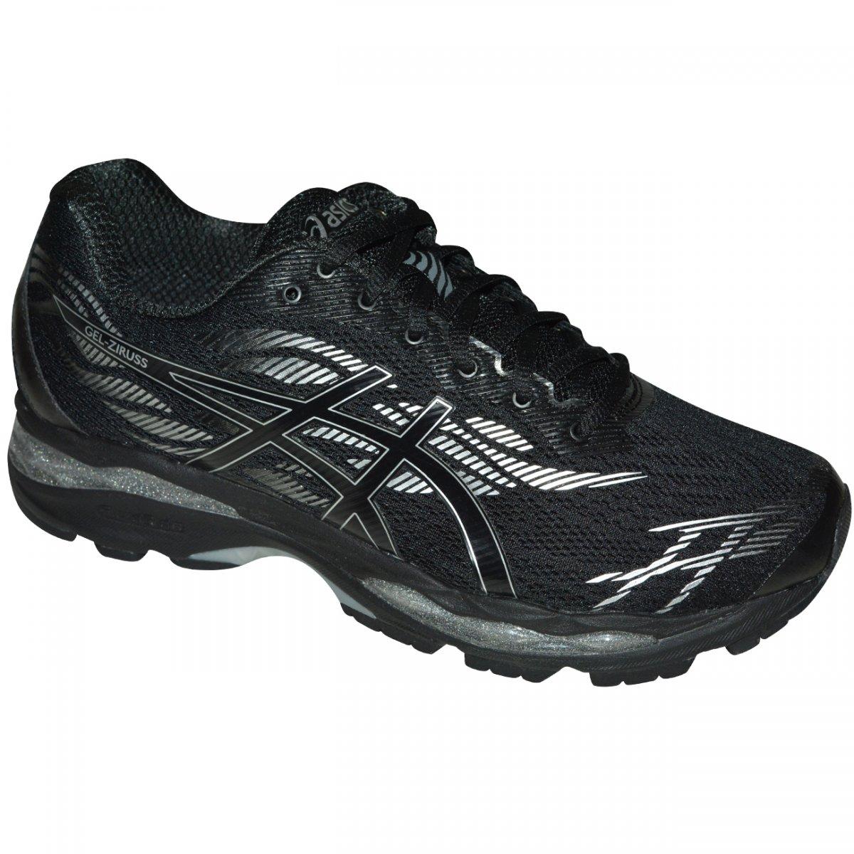 67429c52e Tenis Asics Gel-Ziruss T7J1N 9090 - Preto/preto/prata - Chuteira Nike,  Adidas. Sandalias Femininas. Sandy Calçados