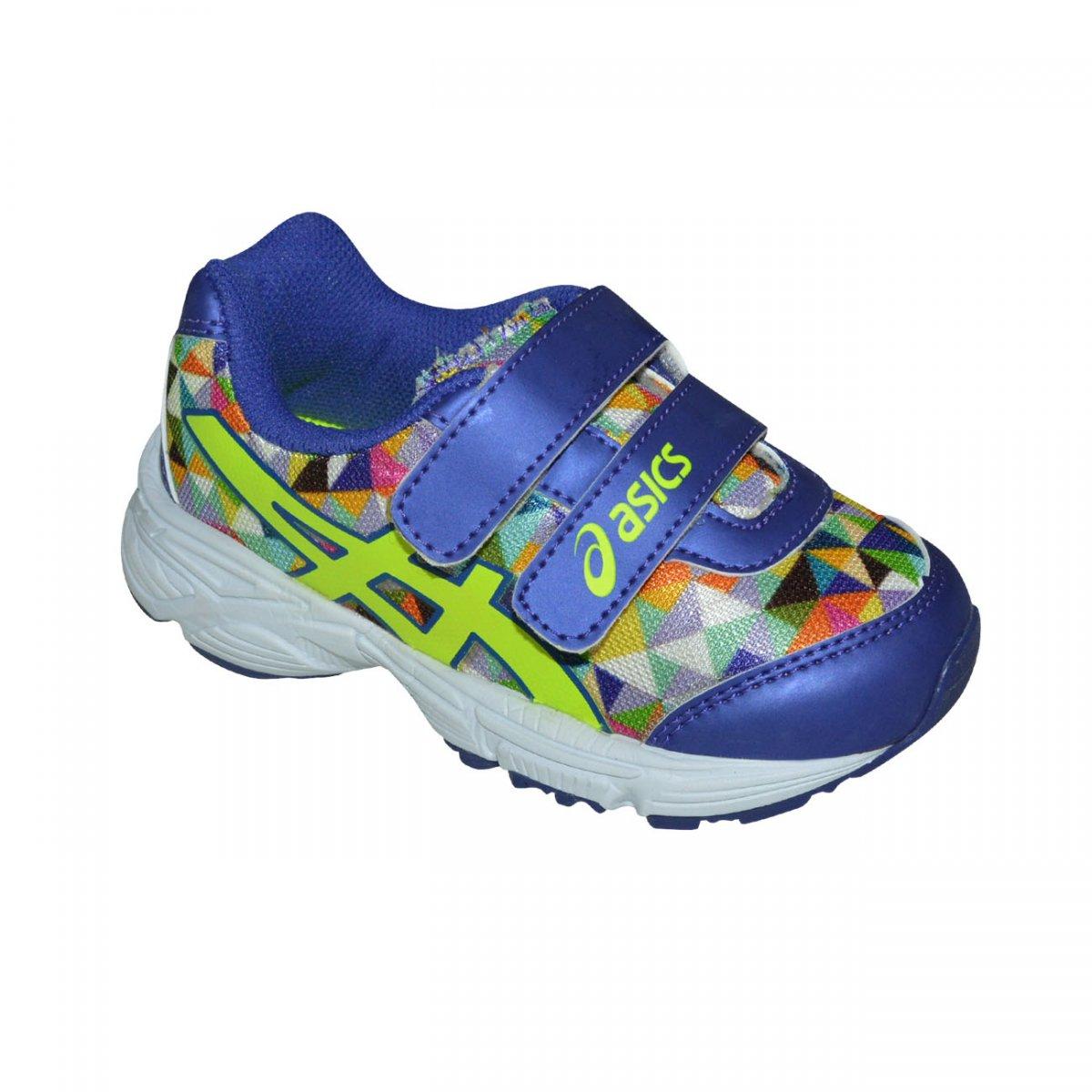 2a2060113e Tenis Asics Sugar Baby TS Infantil C003A 4107 - Uva/Limão/Branco - Chuteira  Nike, Adidas. Sandalias Femininas. Sandy Calçados