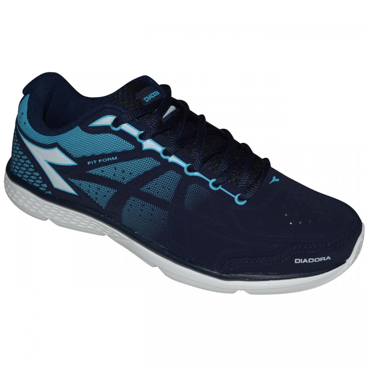 2fa3e38b18 Tenis Diadora Fit Form SL 125605 C7865 - Marinho Azul Branco - Chuteira  Nike