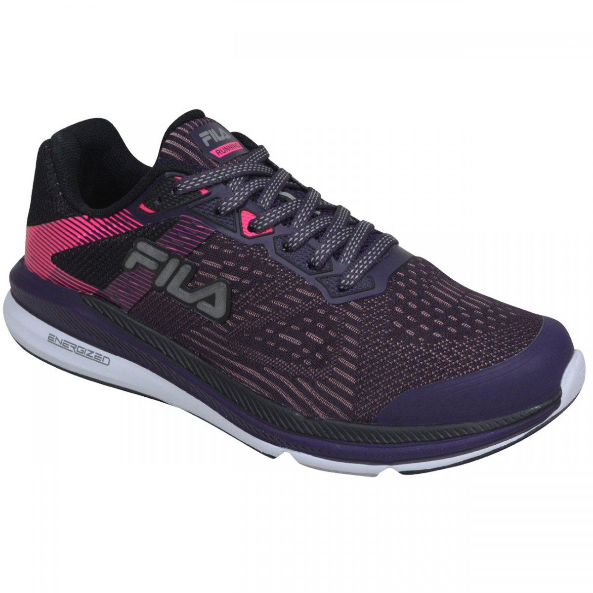 38e1ad2827 Tenis Fila FR Trainer Energized 2.0 802381 - Uva rosa preto - Chuteira  Nike