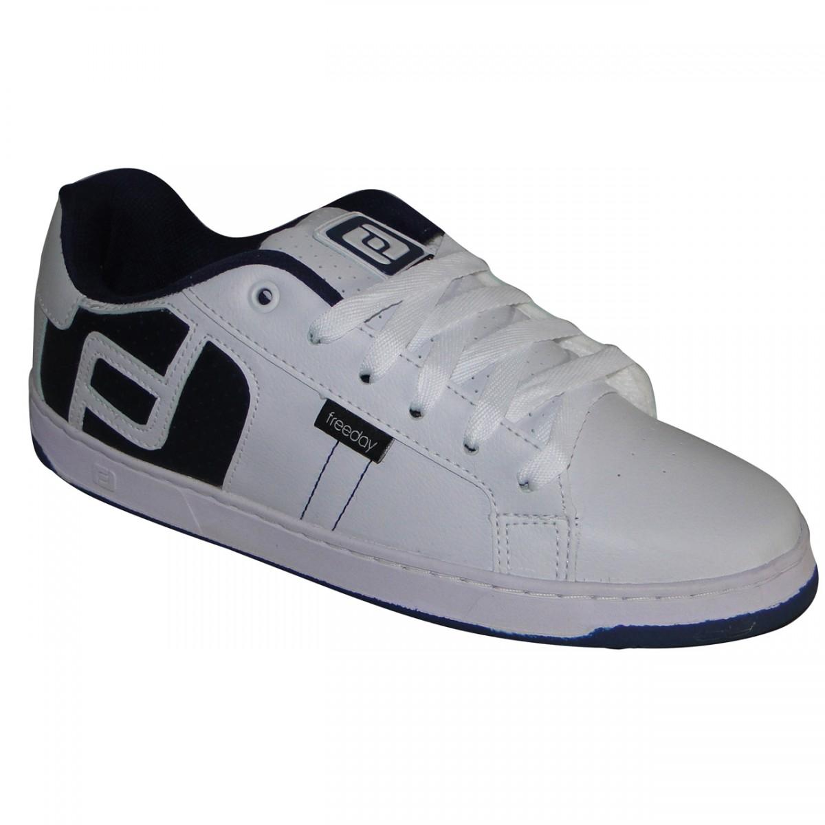 b151463a6d8 TENIS FREEDAY LOGO 19900BCOMHO - BRANCO MARINHO - Chuteira Nike ...