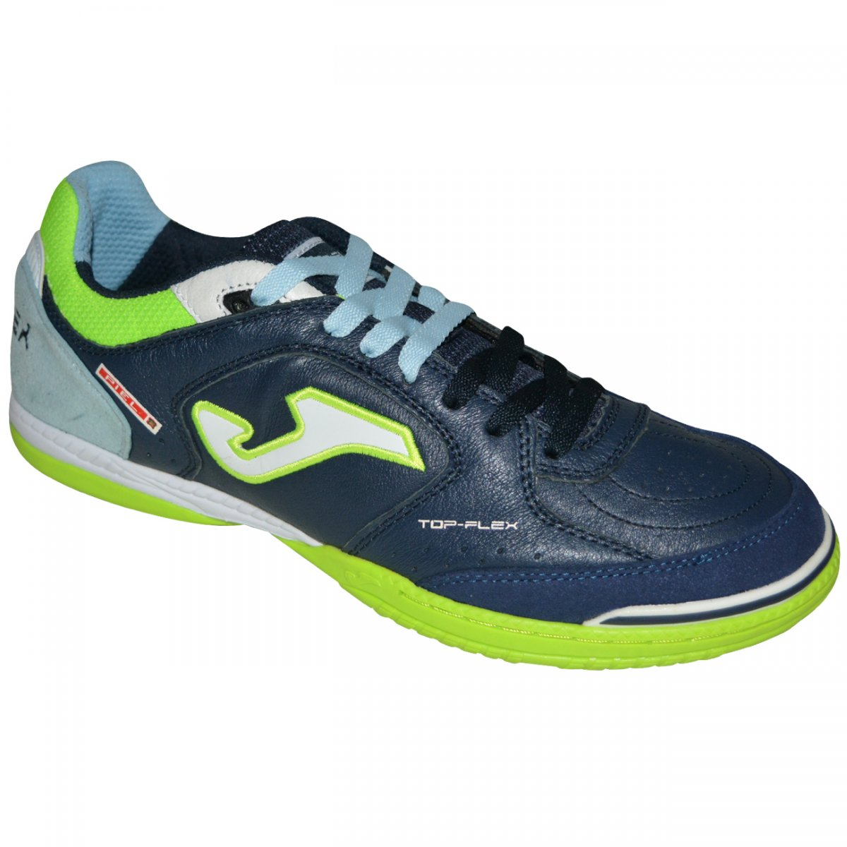 Tenis Joma Top Flex 703 TOPW.703.IN - Marinho limao branco - Chuteira Nike 7d40091a76d4c