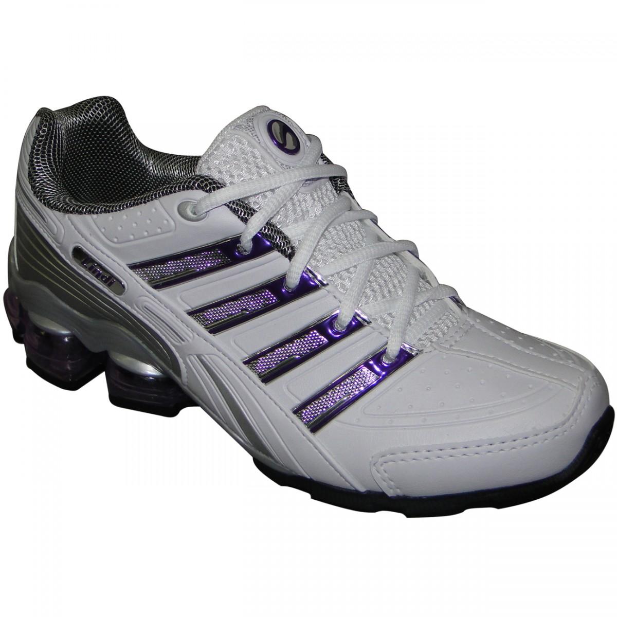 38025a71543 TENIS LINDI REF.143 8512 - BRANCO ROXO - Chuteira Nike