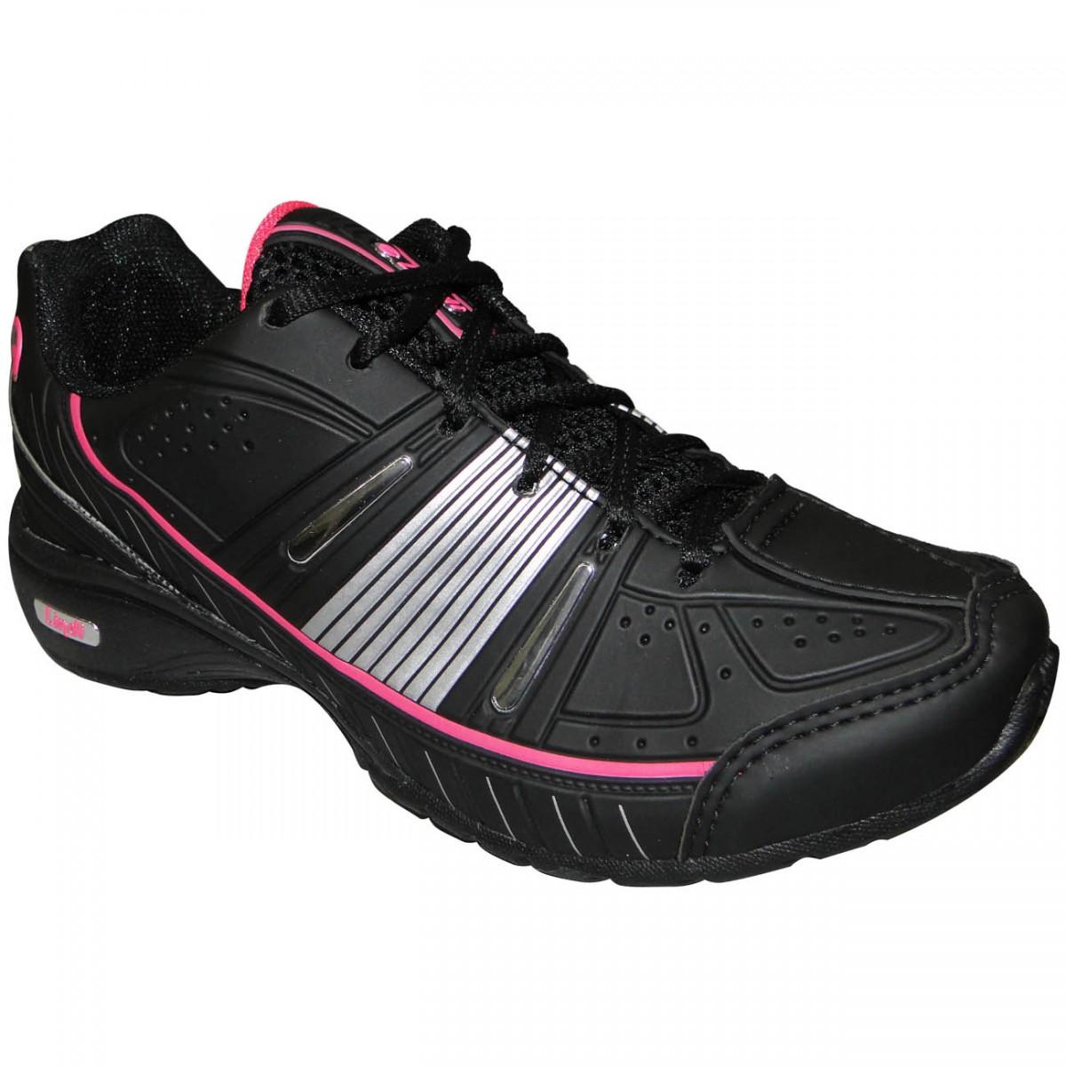 9efdaef1cf TENIS LINDI REF.178 8525 - PRETO PRATA PINK - Chuteira Nike