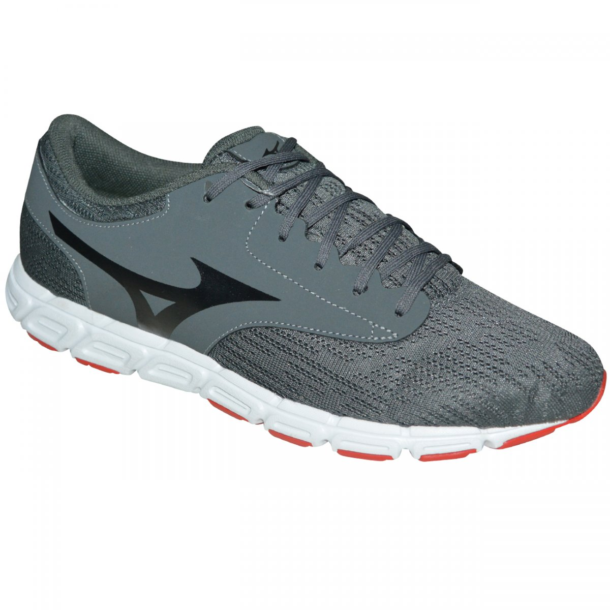 Tenis Mizuno EZ Flex P 4141112 - 0443 - Grafite vermelho - Chuteira Nike 3f3db2211701c