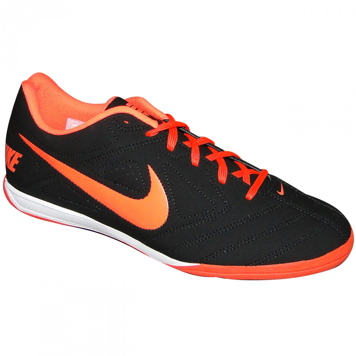 2461666905c1c Tenis Nike 5 Beco 502776 004 - Preto Laranja - Chuteira Nike
