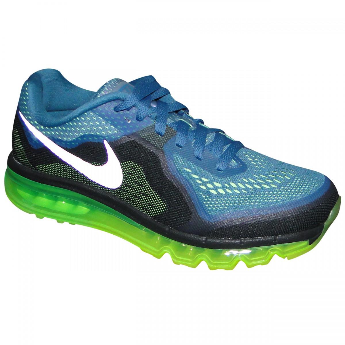newest 488c9 daef5 Tenis Nike Air Max 2014 621077 403 - PetróleoLimão - Chuteira Nike,  Adidas. Sandalias Femininas. Sandy Calçados