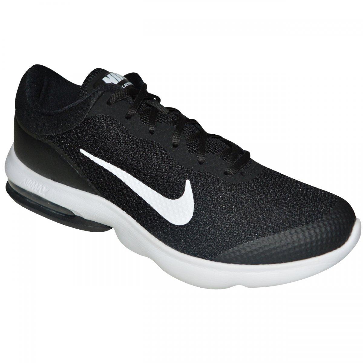 09fd74fa04 Tenis Nike Air Max Advantage 908981 001 - Preto branco - Chuteira Nike