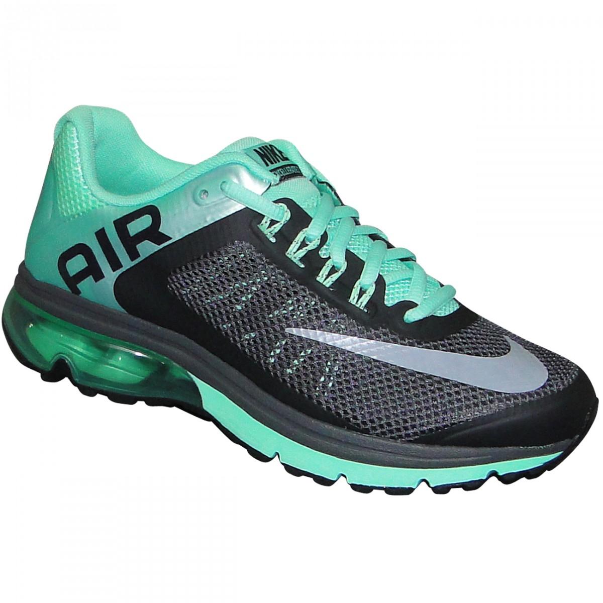 2411acac2 Tenis Nike Air Max Excellerate+ 2 555764 013 - Grafite Verde - Chuteira Nike