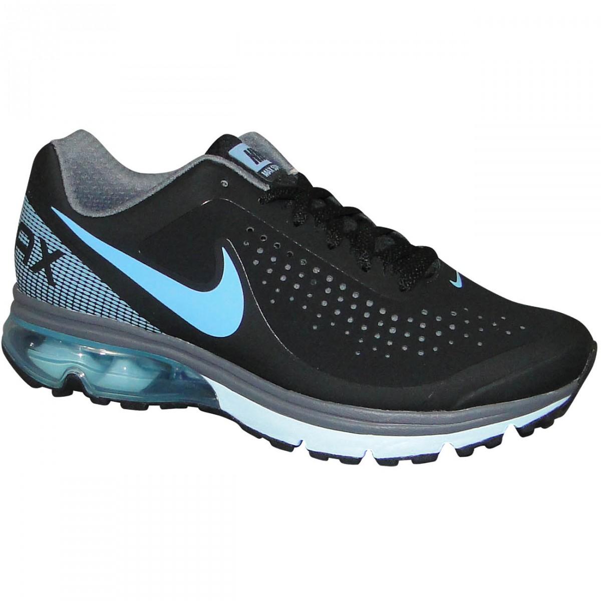 e1aa1b69a20 Tenis Nike Air Max Supreme 2 633061 002 - Preto Celeste - Chuteira ...