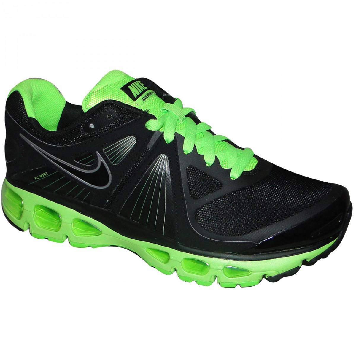 91edd59b4a Tênis Nike Air Max Tailwind+ 4 453976-013 - Preto/Limão - Chuteira Nike,  Adidas. Sandalias Femininas. Sandy Calçados