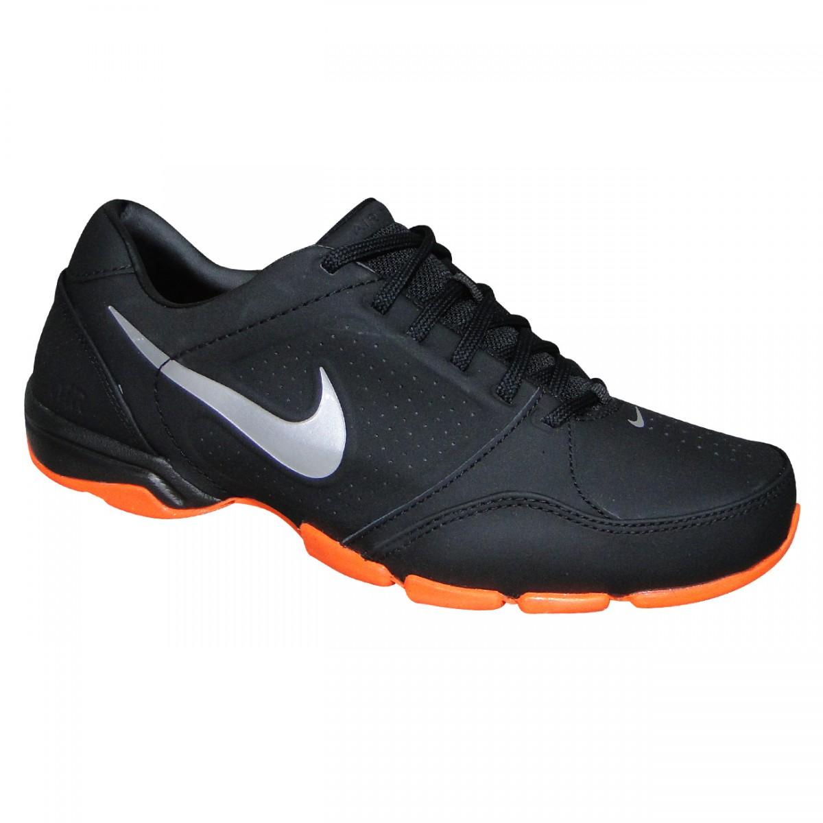 d6de12122a0cf Tenis Nike Air Toukol III 525726 015 - PRETO/PRATA/LARANJA ...