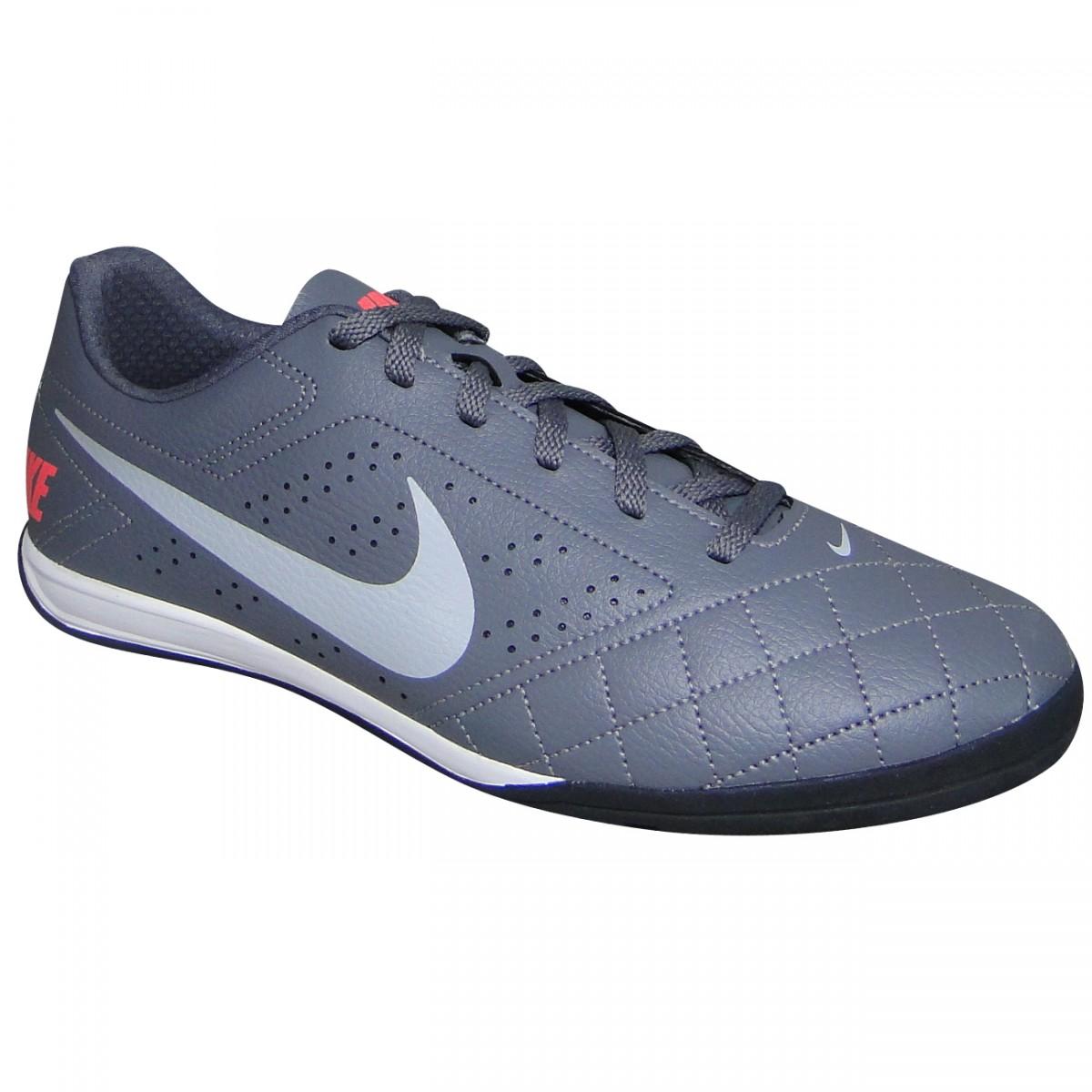 813cdb654b Tenis Nike Beco 2 646433 016 - Chumbo Cinza Coral - Chuteira Nike ...