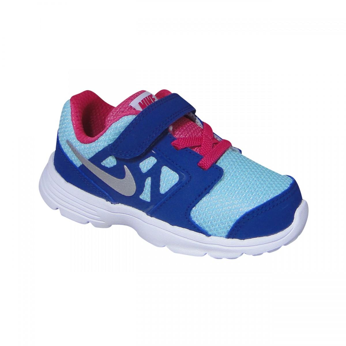 db0e895f5ee Tenis Nike Downshifter 6 Infantil 685164 402 - Marinho Branco Azul ...