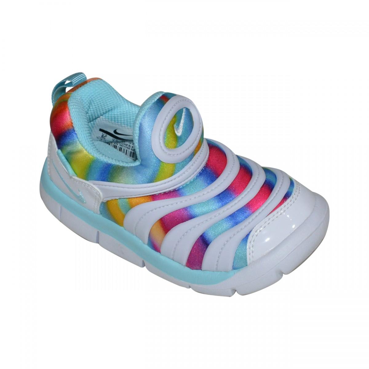 size 40 6ea59 280da Tenis Nike Dynamo Free Print TD Infantil 834366 100 - BrancoMulticolor -  Chuteira Nike, Adidas. Sandalias Femininas. Sandy Calçados