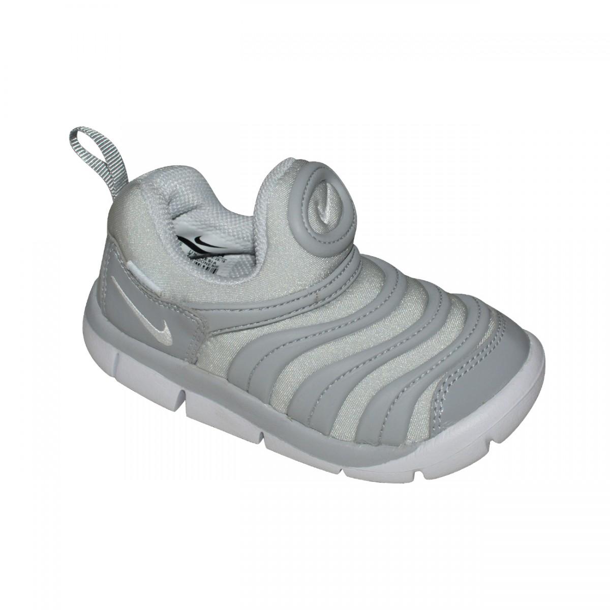 cf701083a0f Tenis Nike Dynamo Free TD Infantil 343938 011 - Cinza Cinza - Chuteira Nike